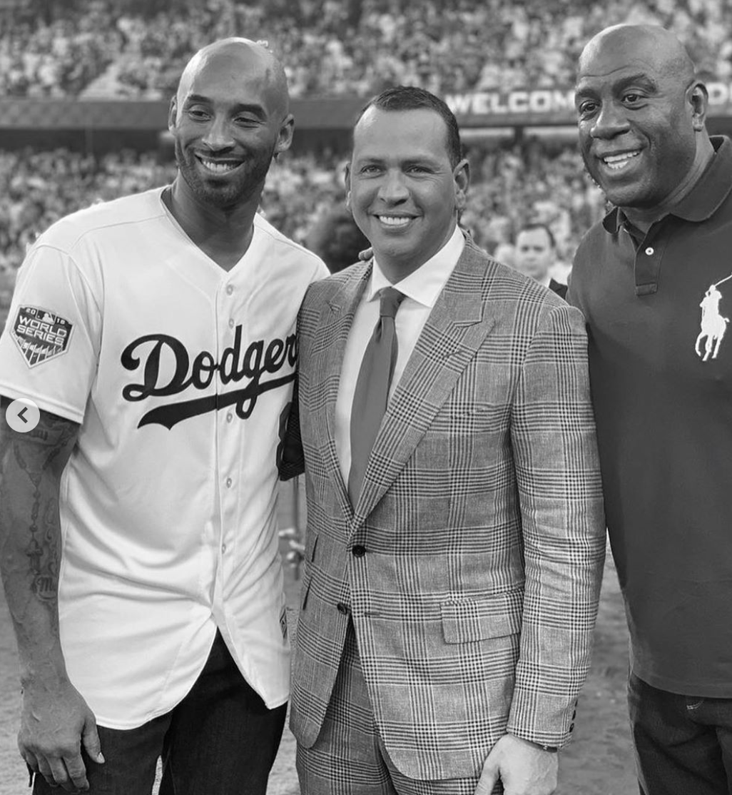 Alex Rodriguez, Kobe Bryant, Magic Johnson