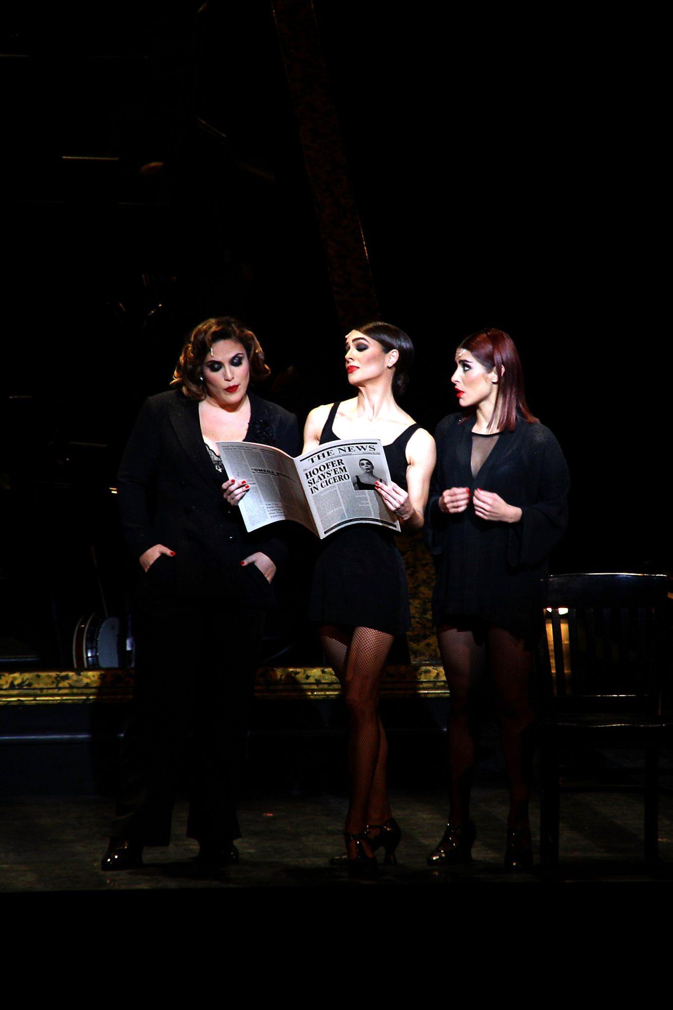 """Angélica Vale debuta al lado de Bibi Gaytán y María León en el musical """"Chicago"""""""