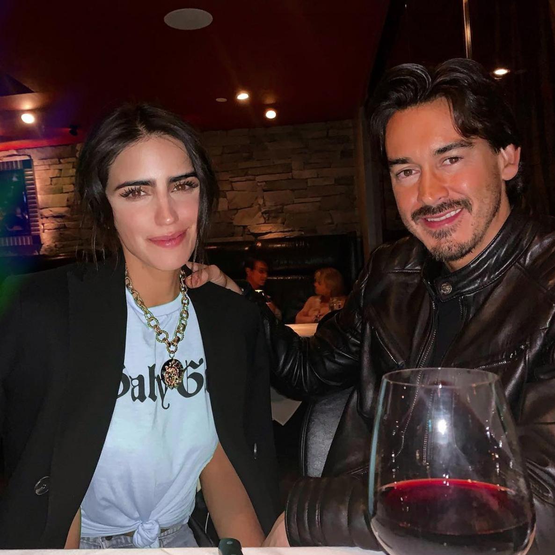 Bárbara de Regil con su pareja Fernando Schowenland