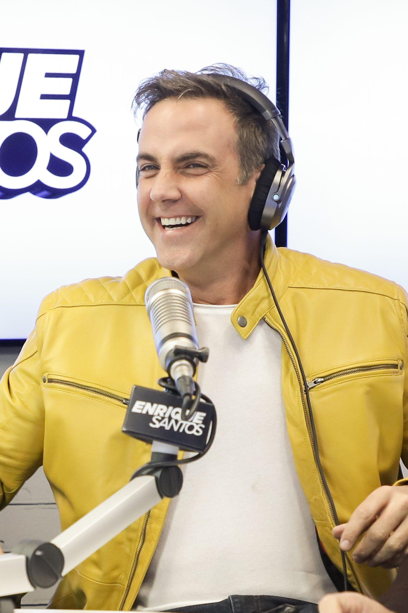 Celebrities Visit The Enrique Santos Show