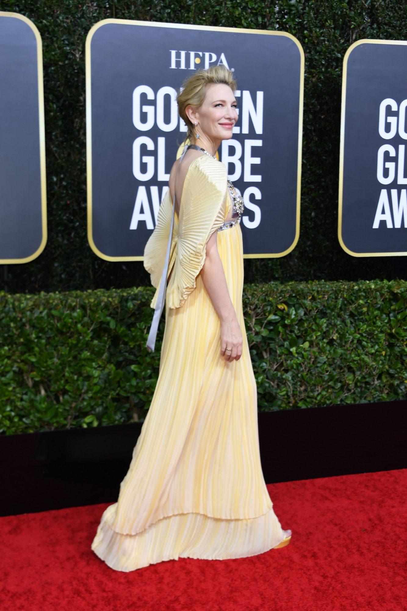 Cate Blanchett Alfombra Roja Golden Globes 2020