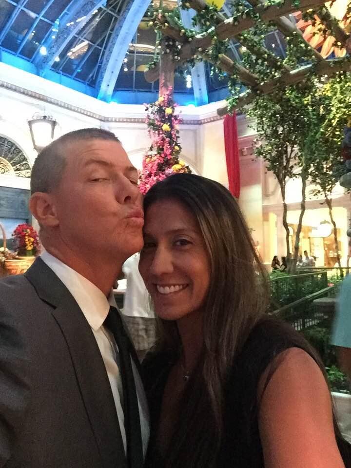 Christina Mauser and husband