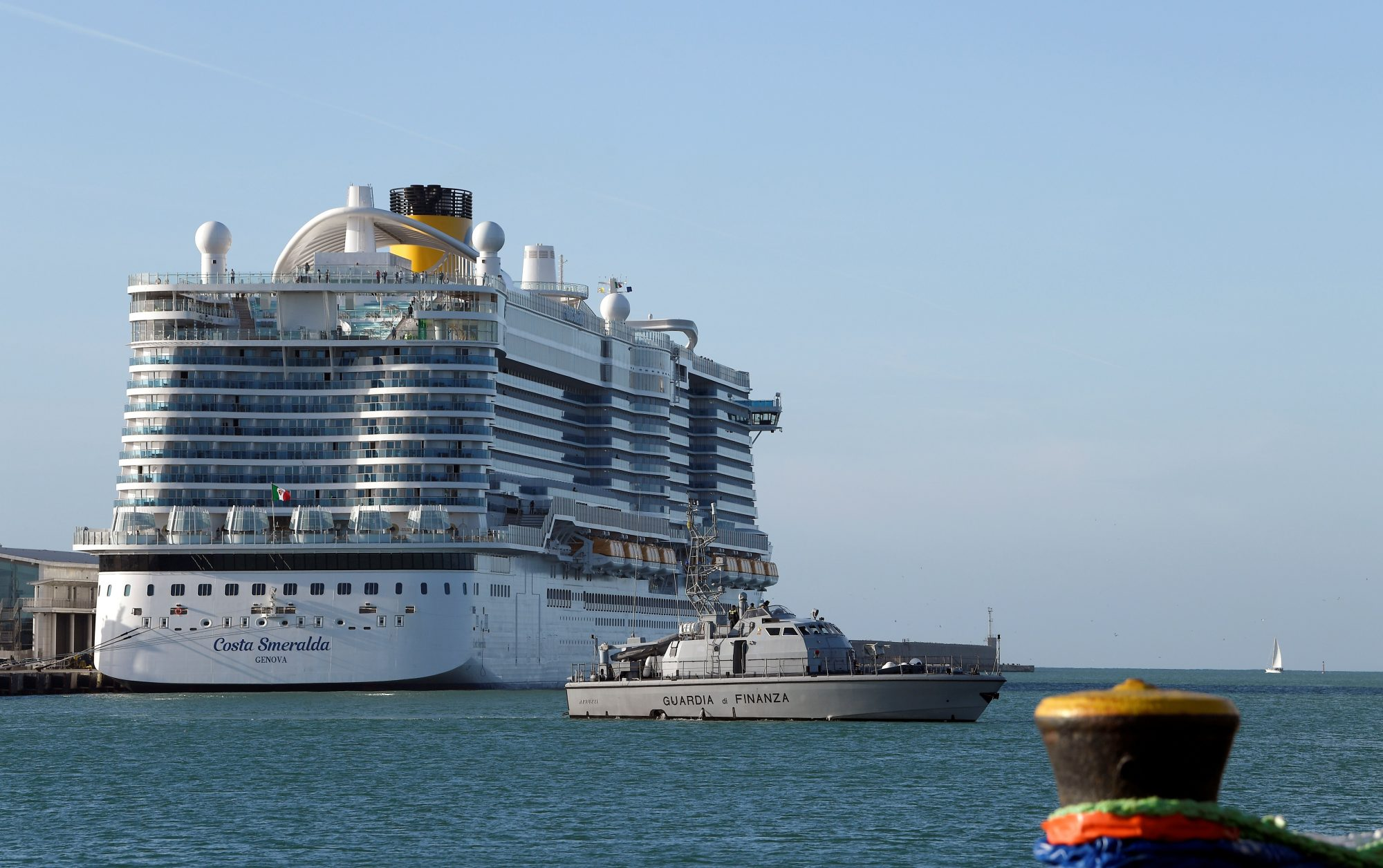 Costa Smeralda cruise ship - coronavirus