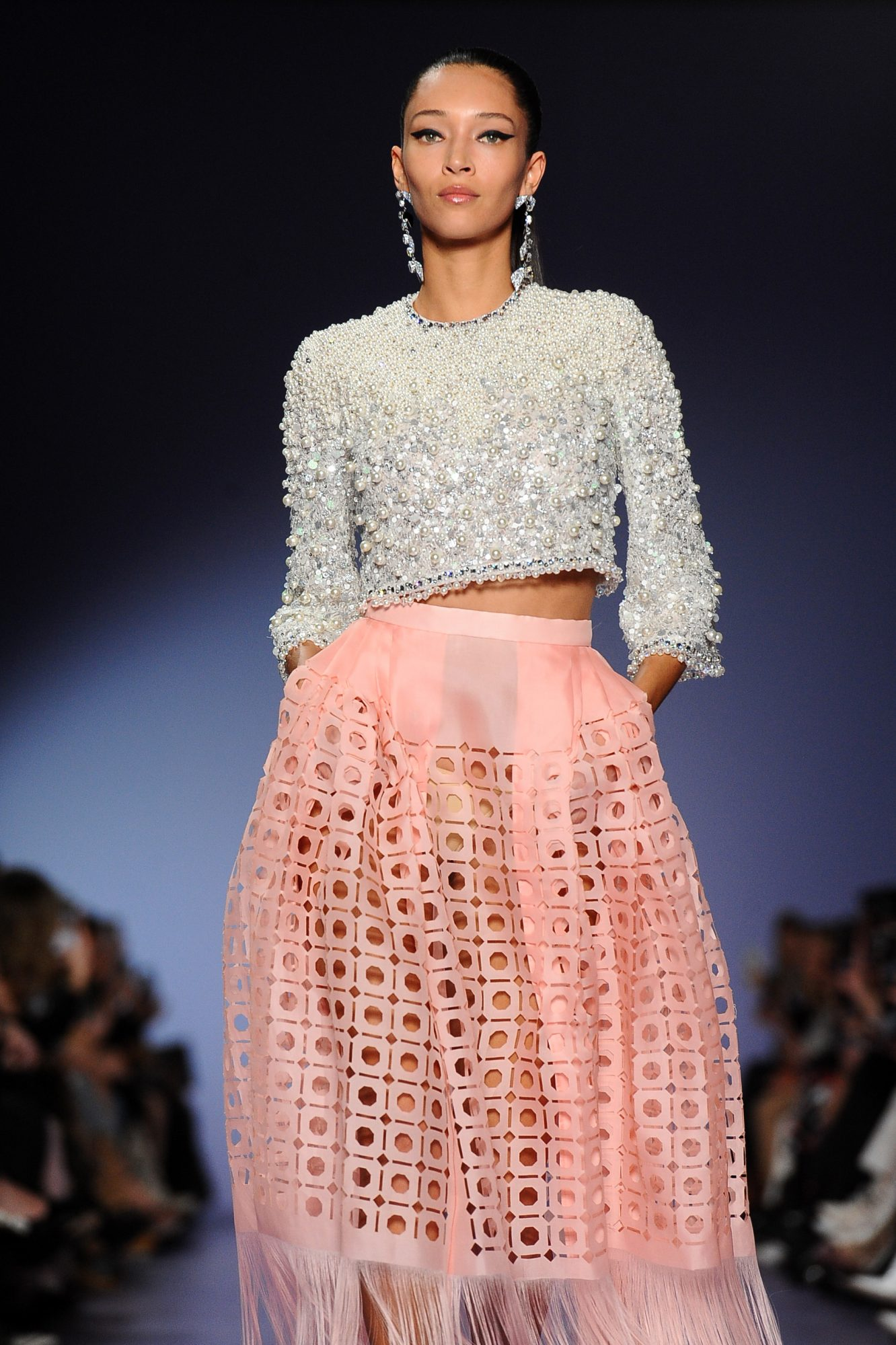 Georges Hobeika : Runway - Paris Fashion Week - Haute Couture Spring/Summer 2020