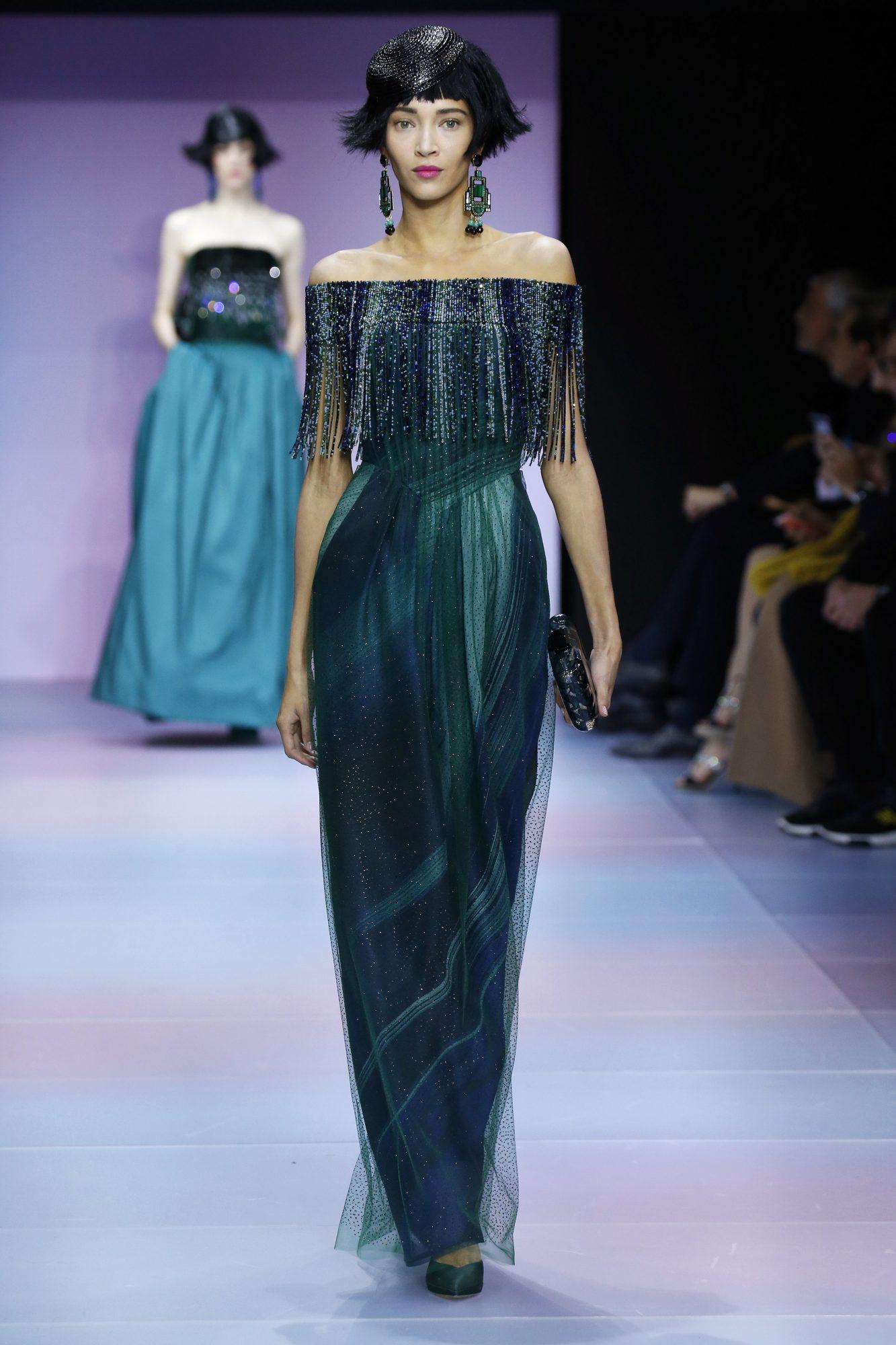 Giorgio Armani Prive : Runway - Paris Fashion Week - Haute Couture Spring/Summer 2020