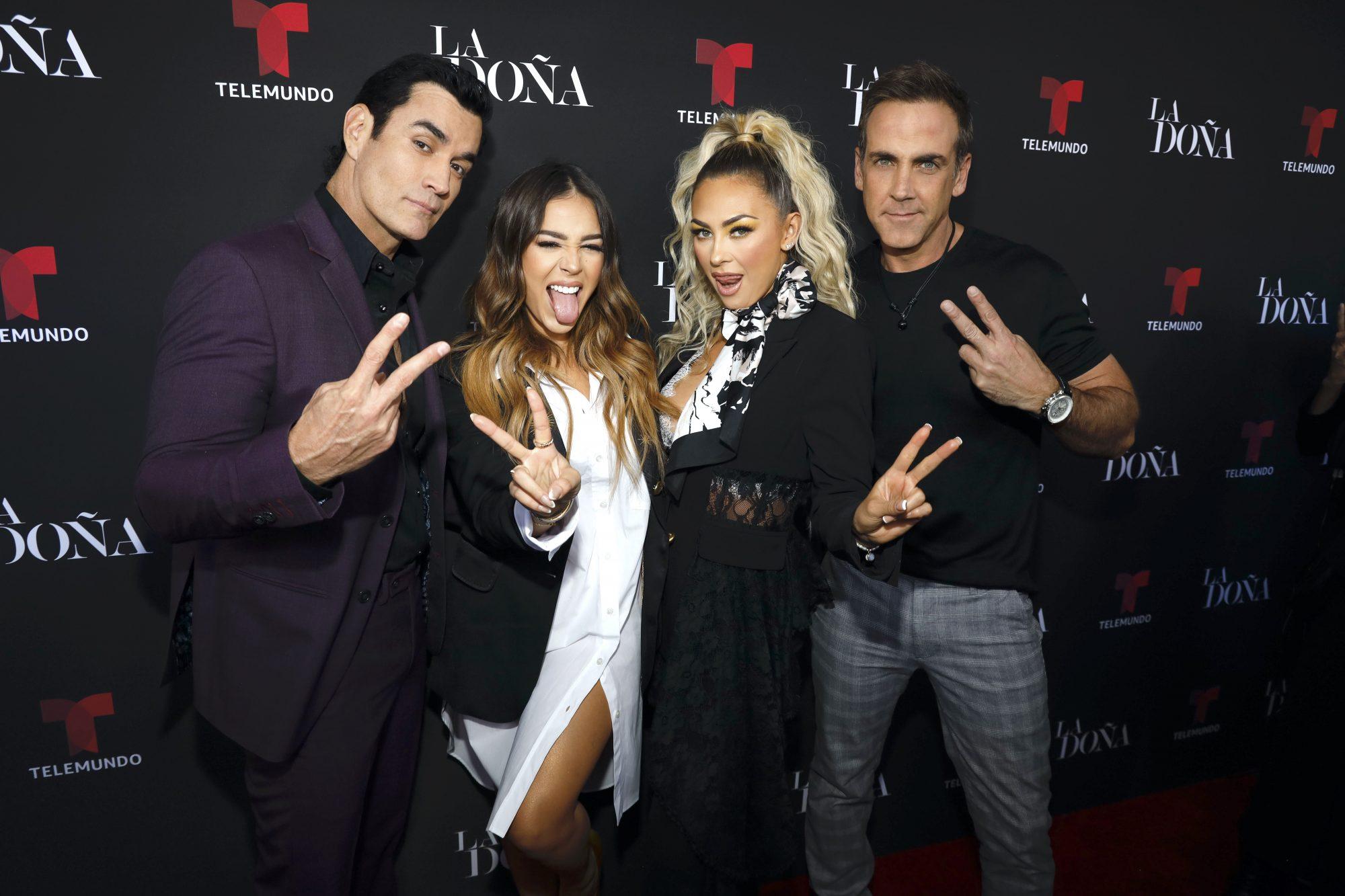 David Zepeda, Aracely Arámbula y Carlos Ponce