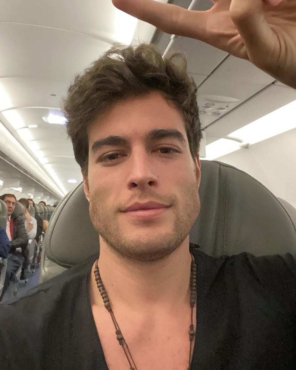 Danilo Carrera de viaje