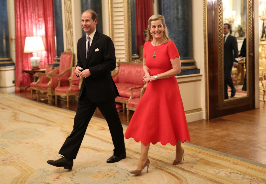 príncipe Eduardo Sophie Condes de Wessex