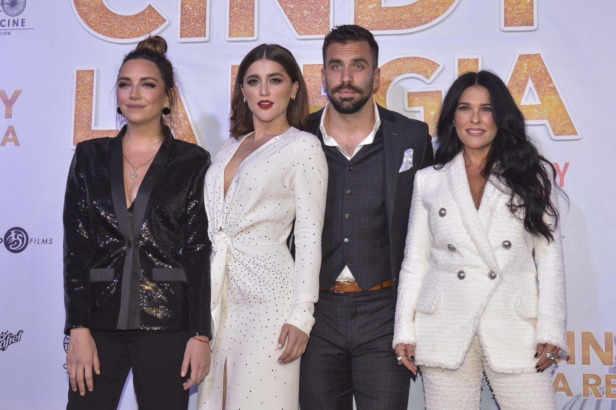 Regina Blandon, Cassandra Sanchez Navarro, Giuseppe Gamba, Martha Debayle, 'Cindy La Regia