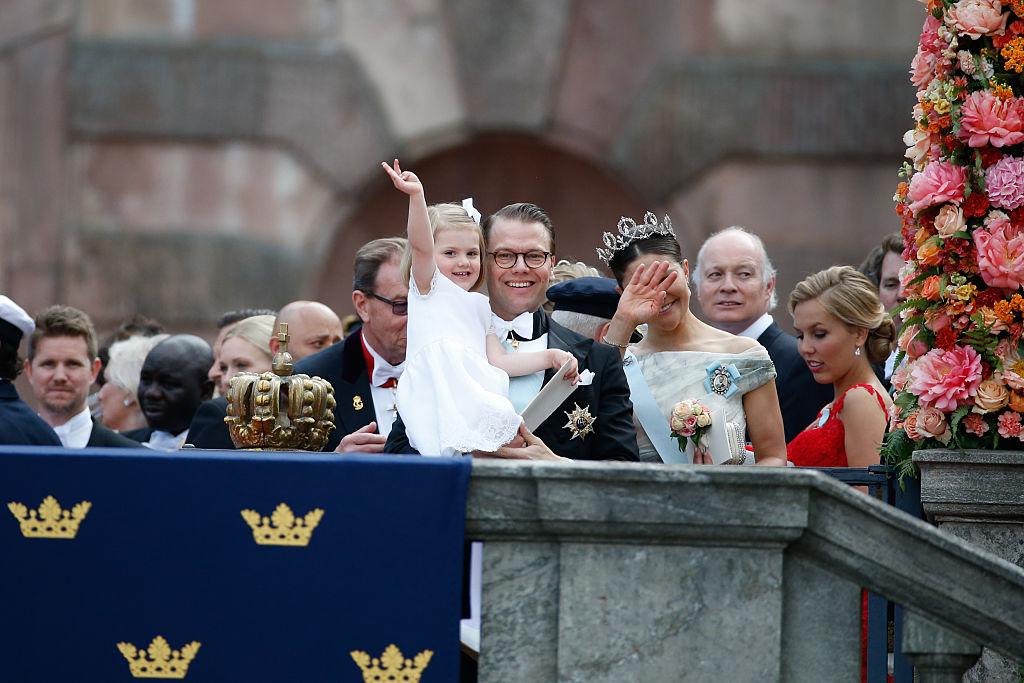 Estela de Suecia princesa Victoria principe Daniel