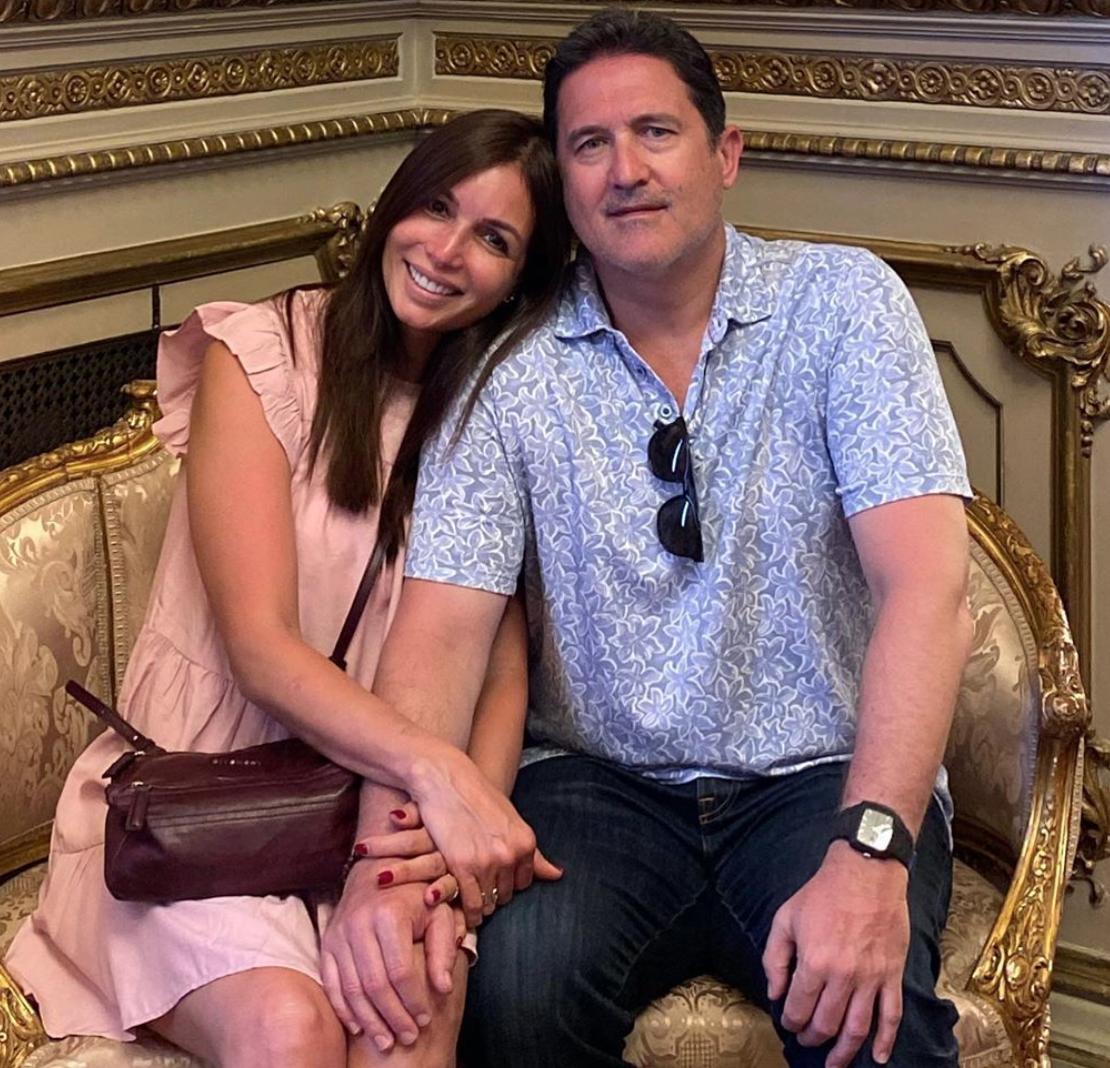 Giselle Blondet y Jaime Fernández Palacios de vacaciones en Argentina