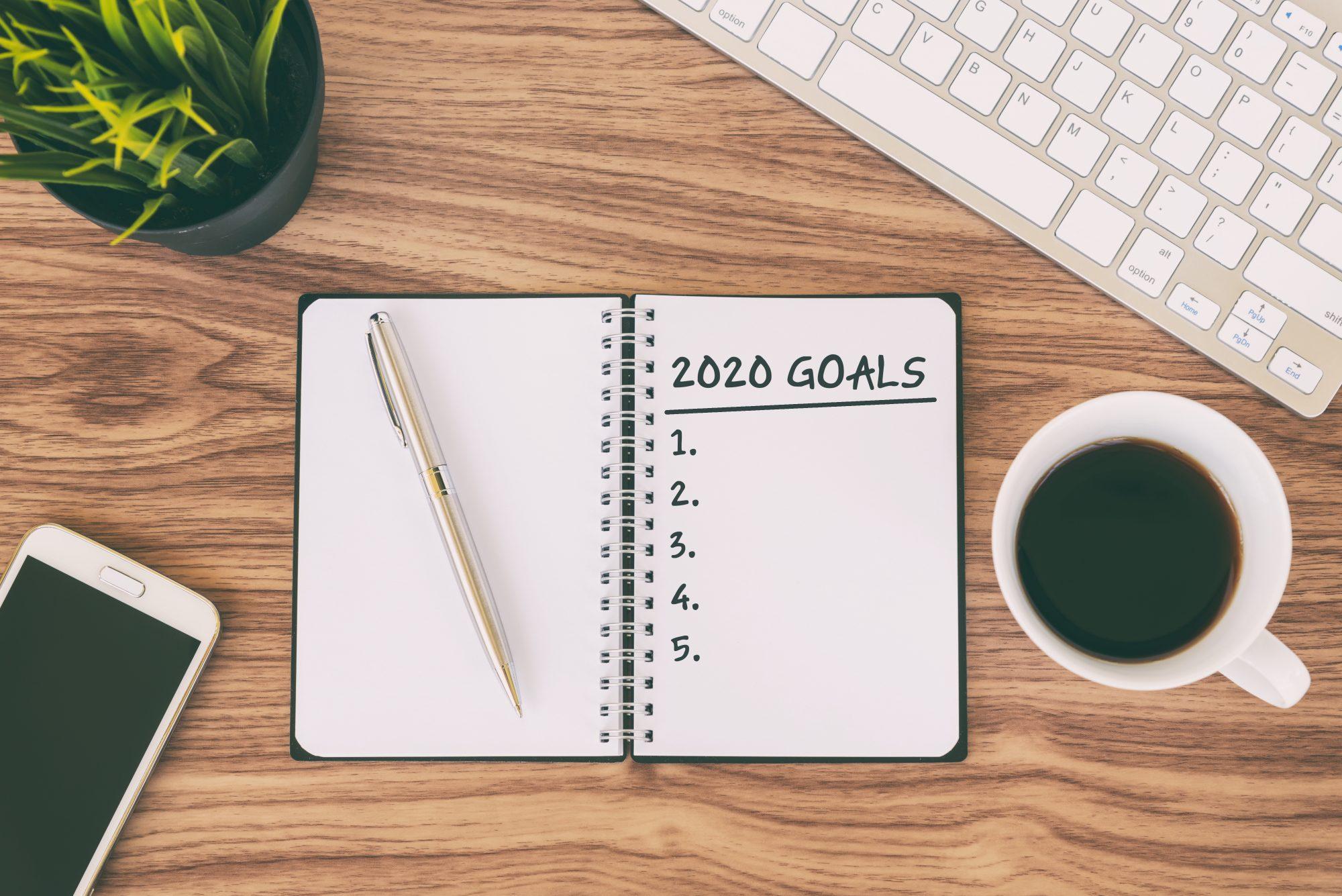 2020 goals propósitos año nuevo