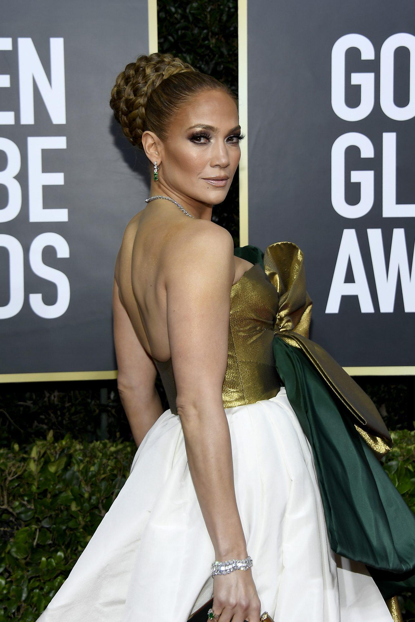 Jennifer López brilla en los Golden Globes 2020