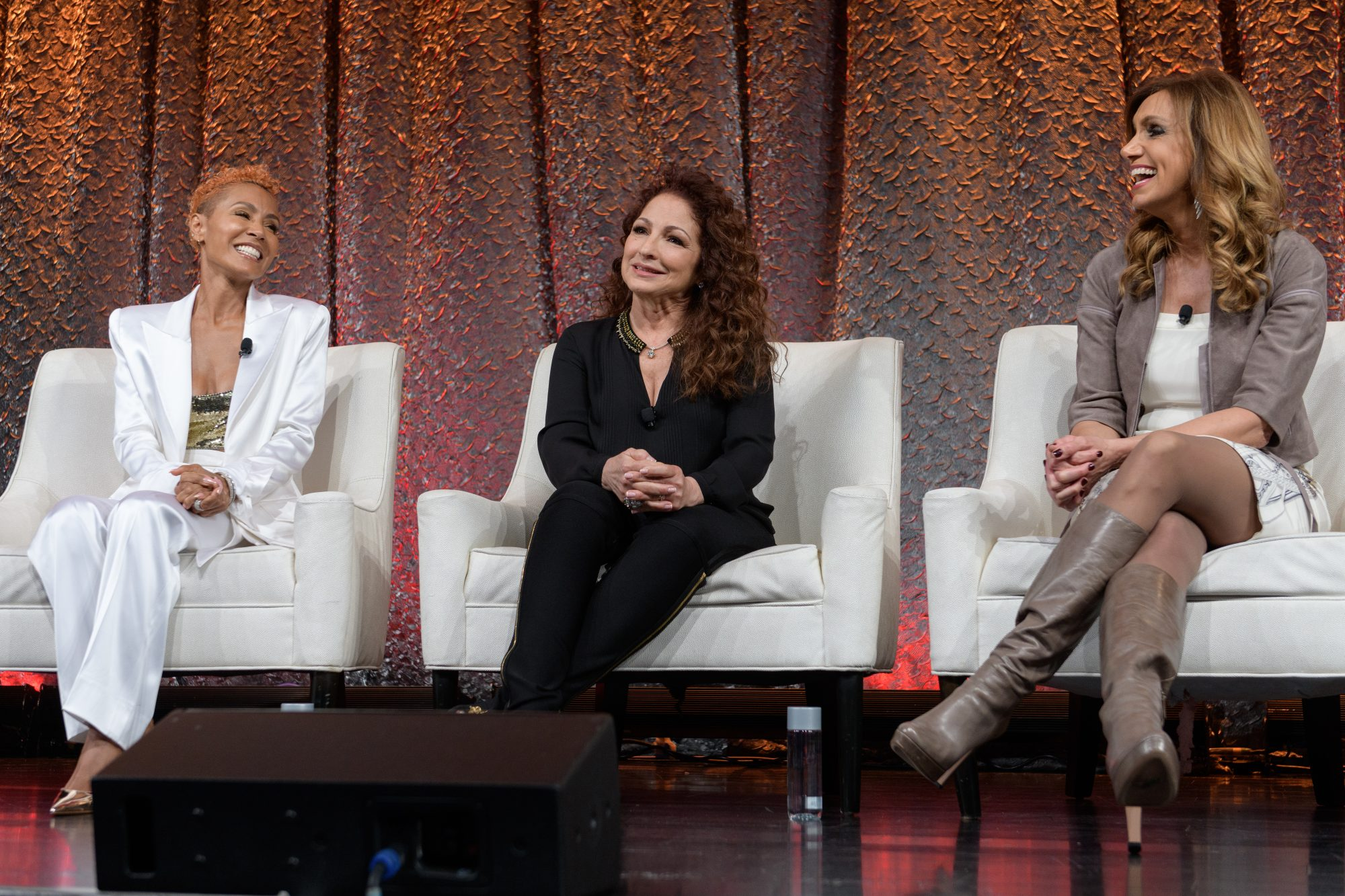 NATPE Miami 2020 - Facebook with Gloria, Emily and Lili Estefan - Jada Pinkett Smith