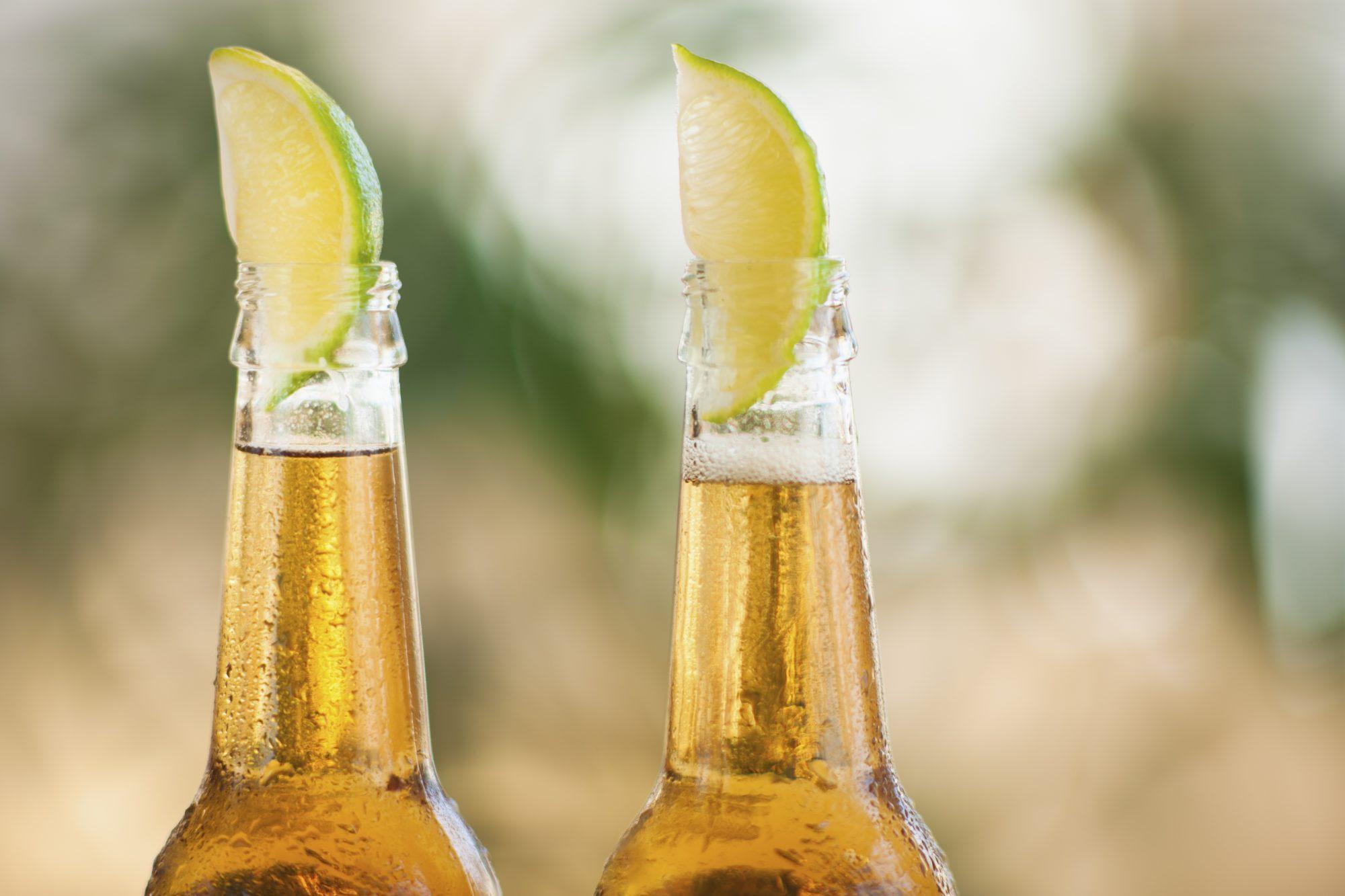 Cerveza con limón