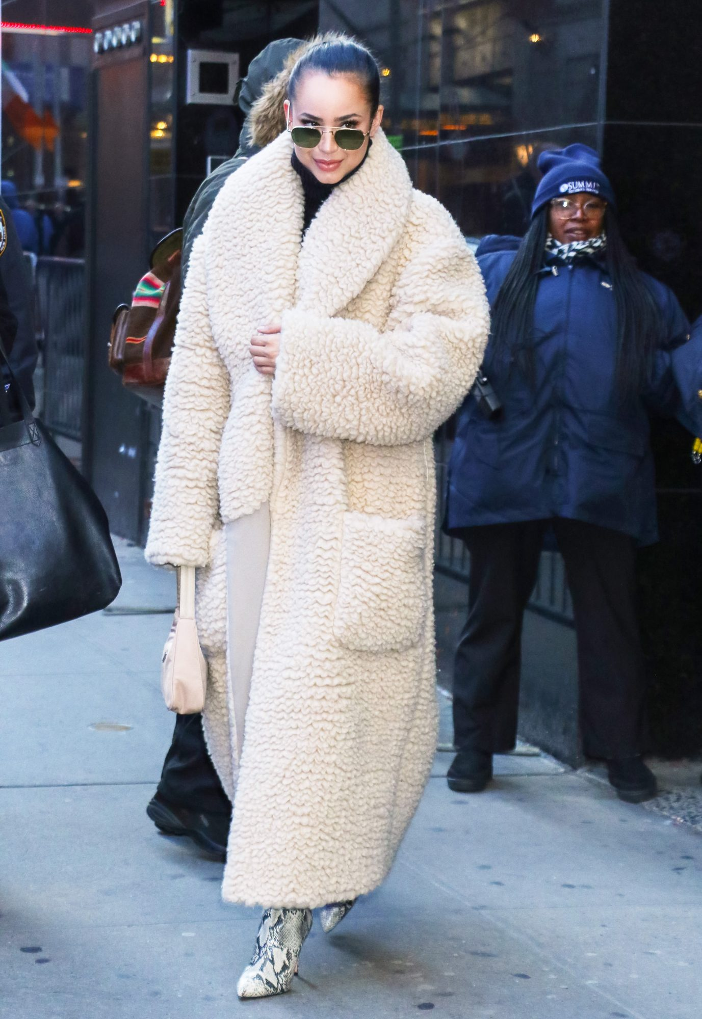 Celebrity Sightings In New York - January 29, 2020