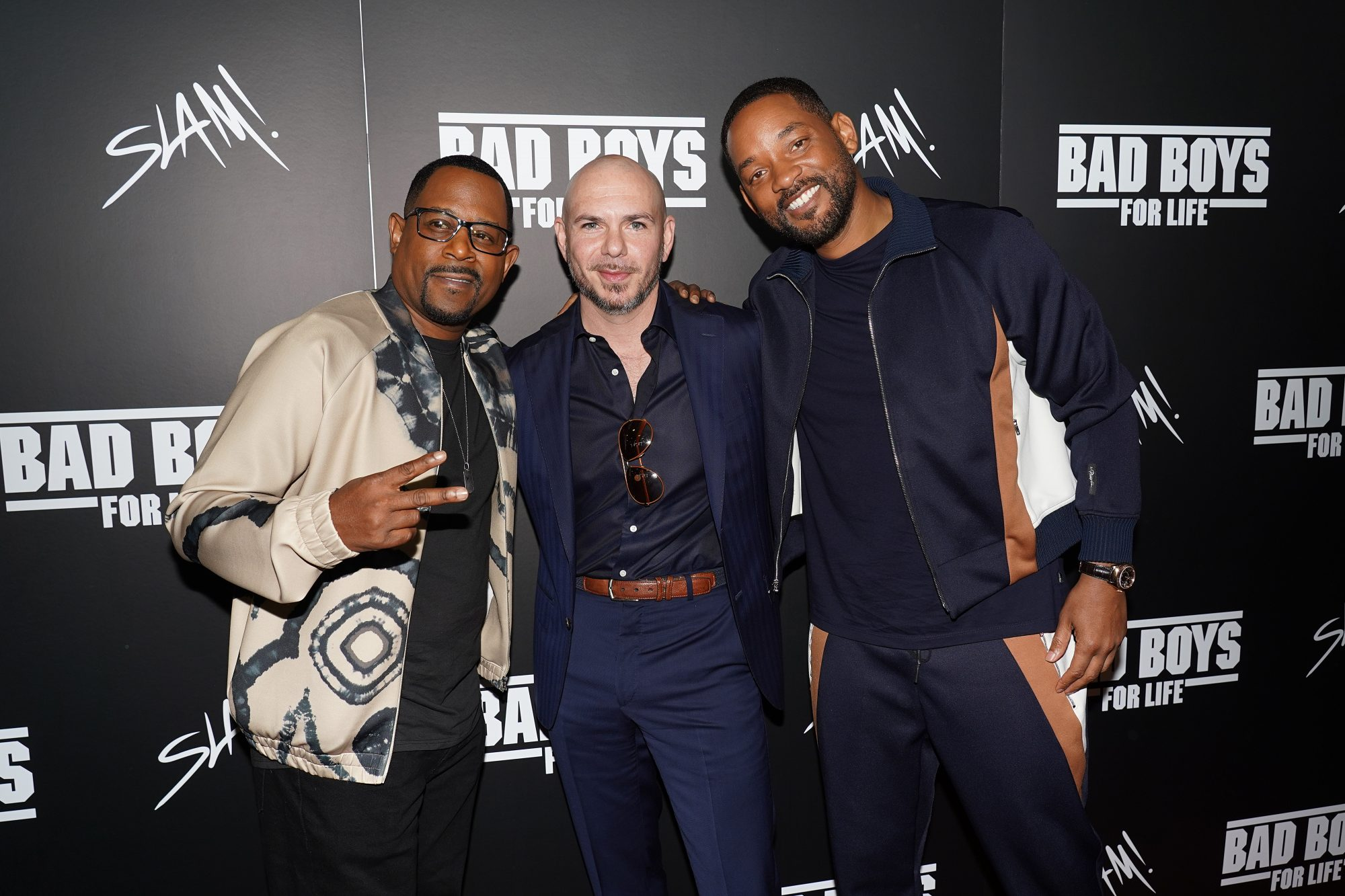 """Bad Boys For Life"": Will Smith And Martin Lawrence Surprise Students At Slam! Miami"