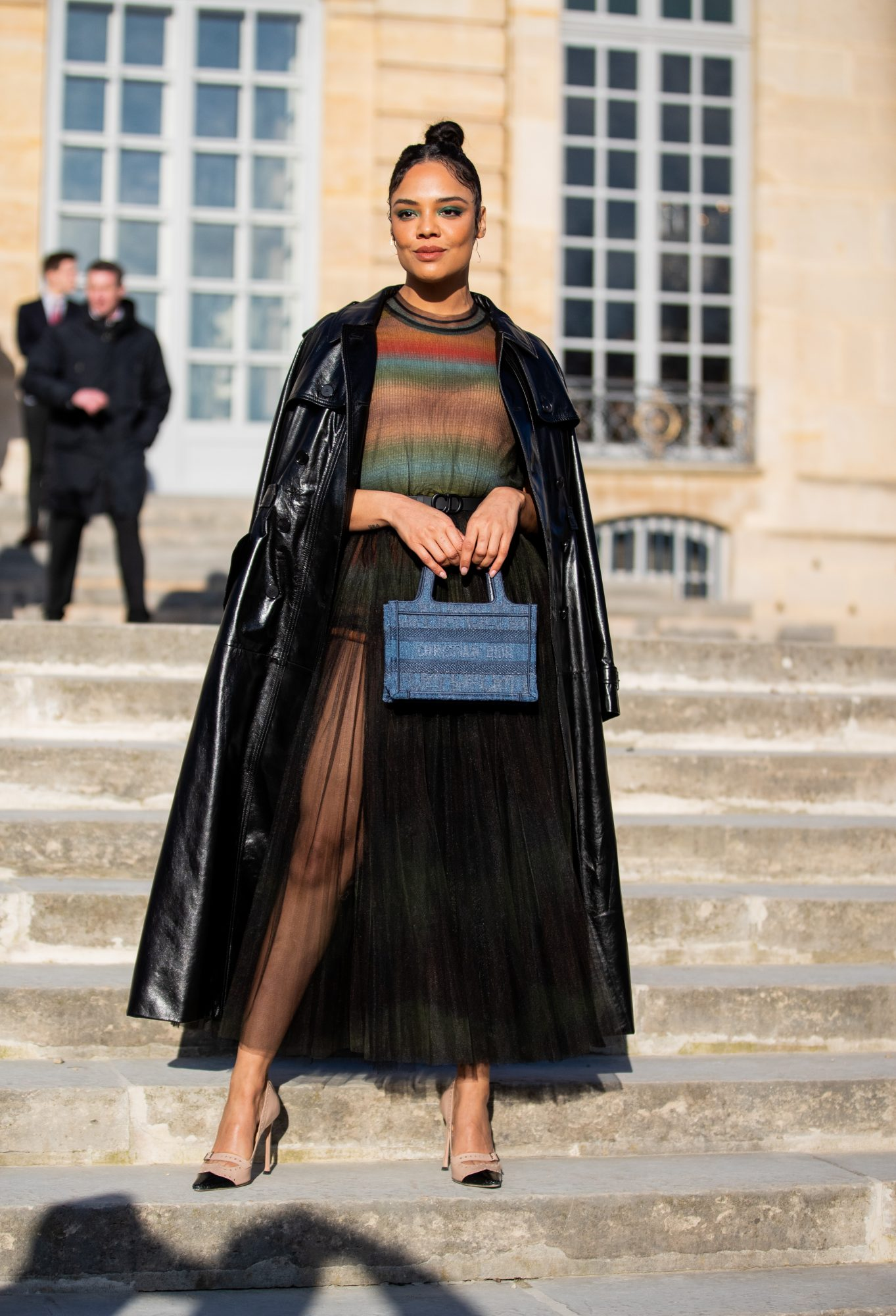 Celebrity Sightings - Paris Fashion Week - Haute Couture Spring/Summer 2020 : Day One