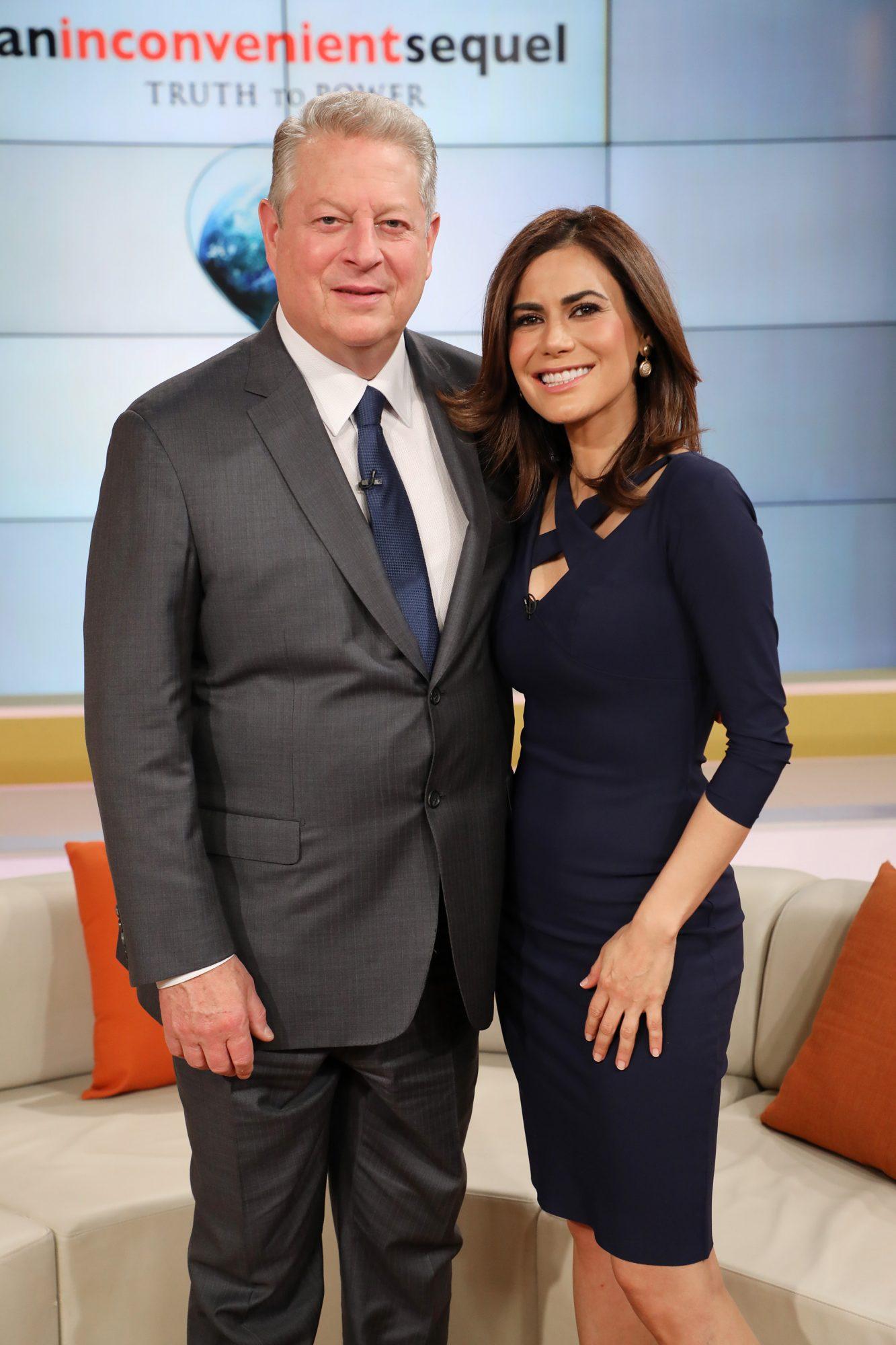 Celebrities Visit Telemundo