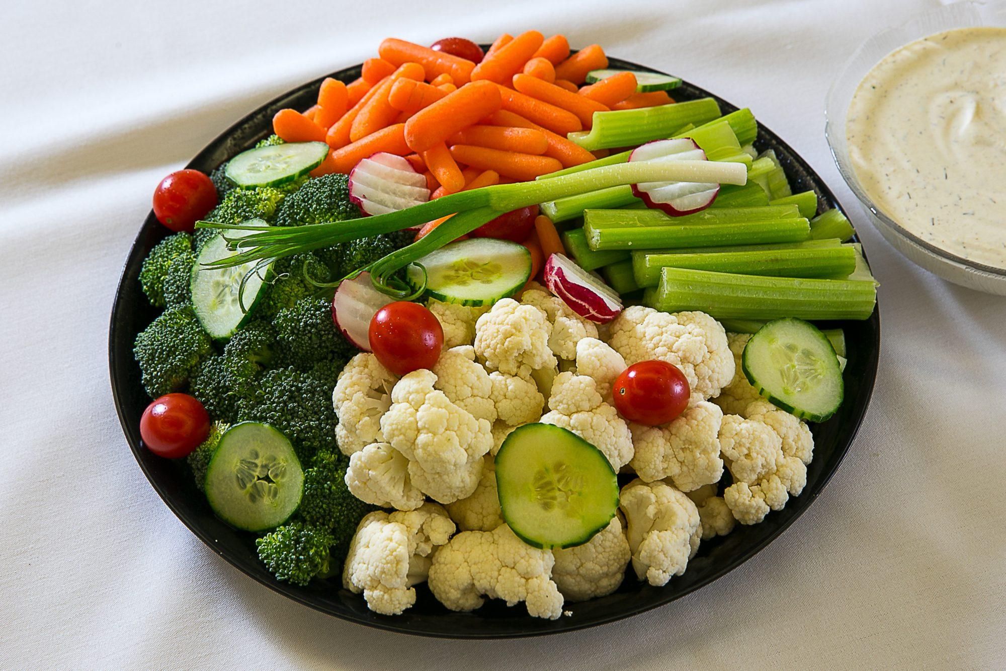 Bandeja de vegetales
