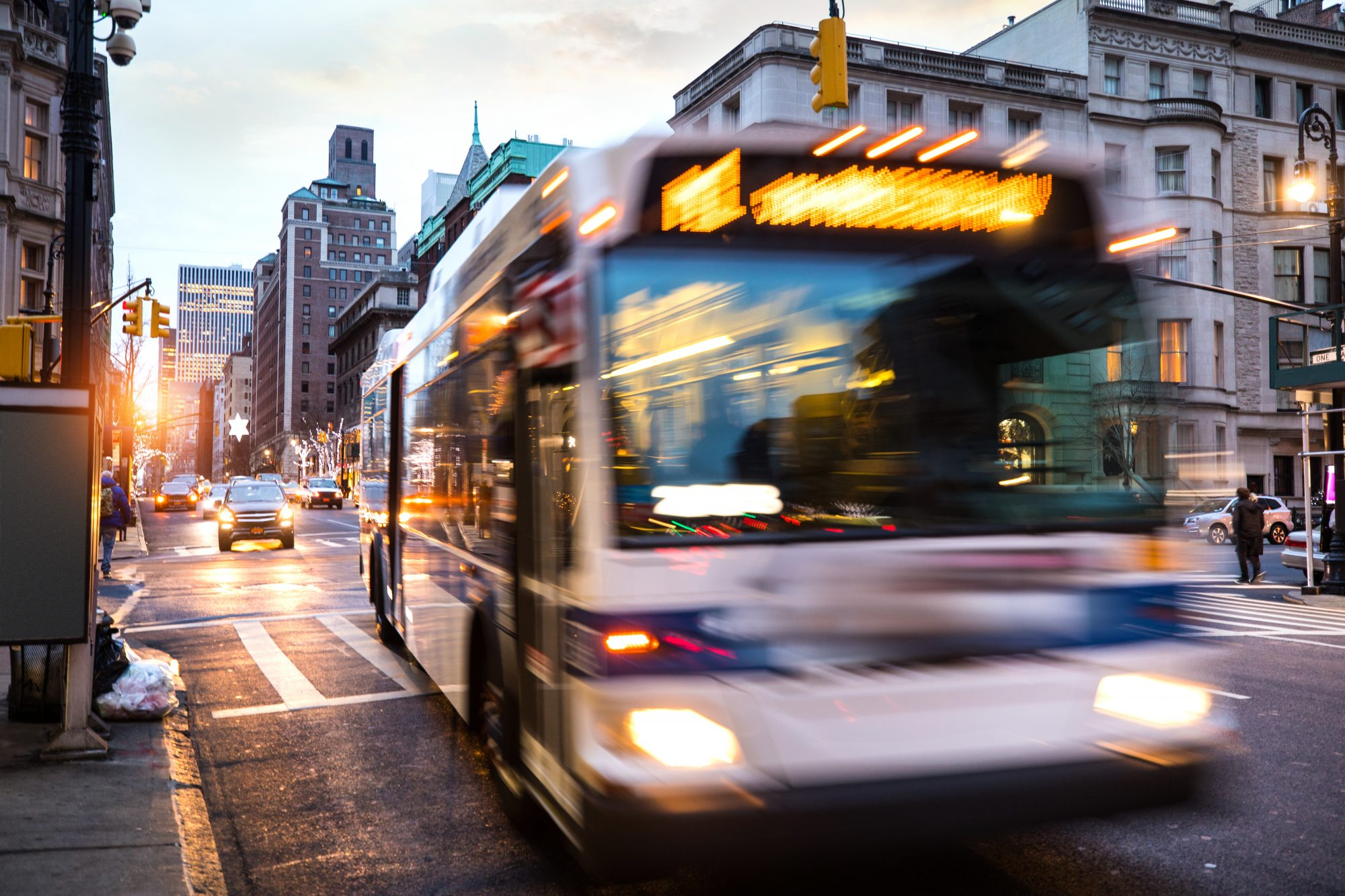 New York City bus