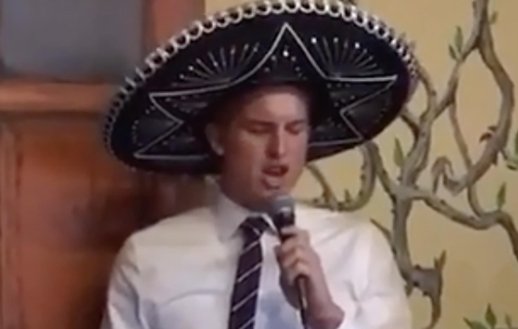 Keith Moore, el gringo mariachi