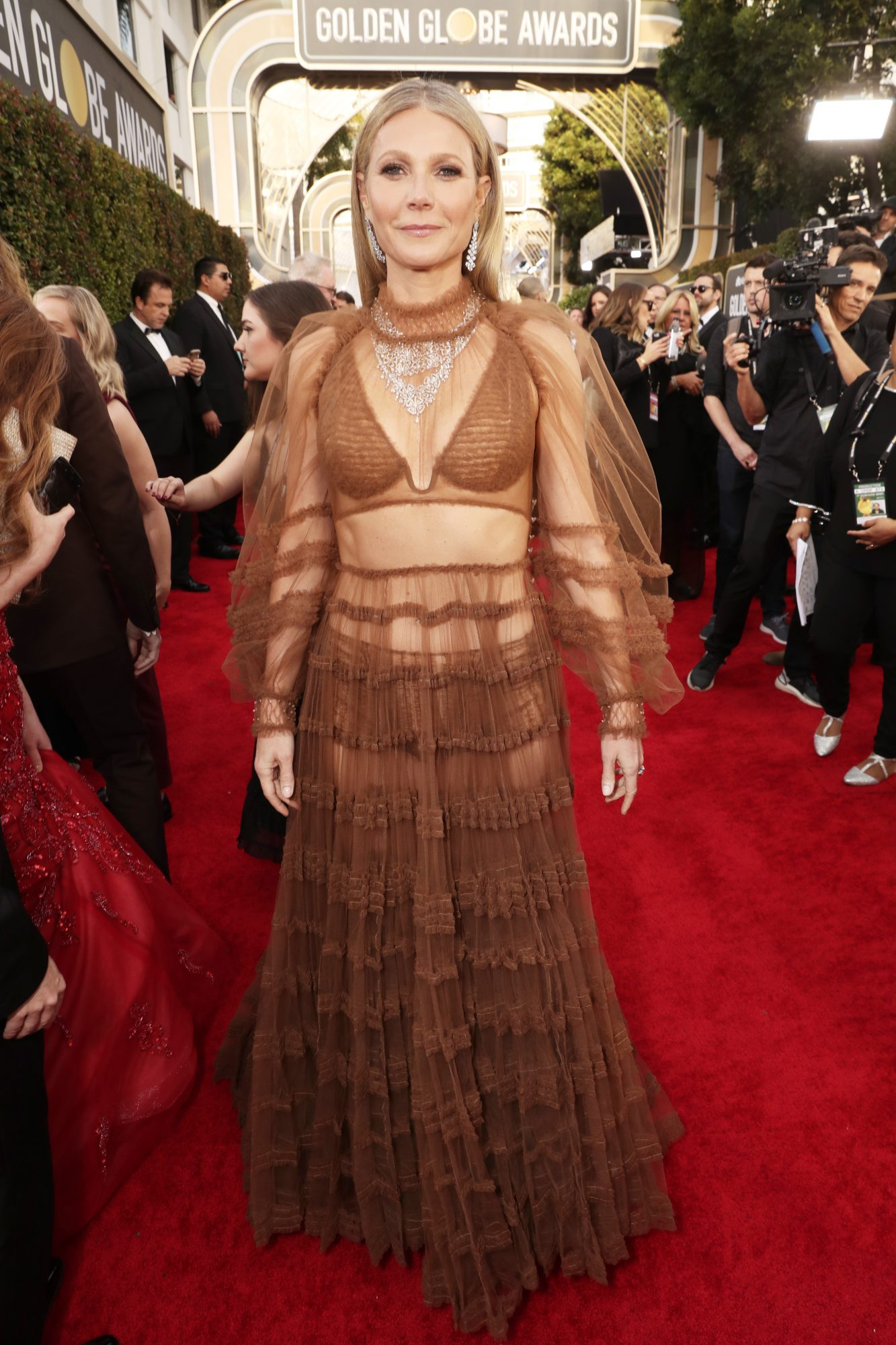 Gwyneth Paltrow Alfombra Roja Golden Globes 2020