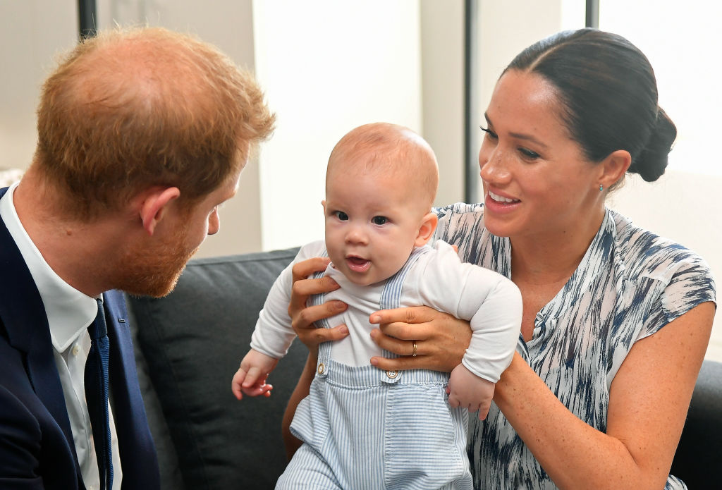 Harry, Archie, Meghan