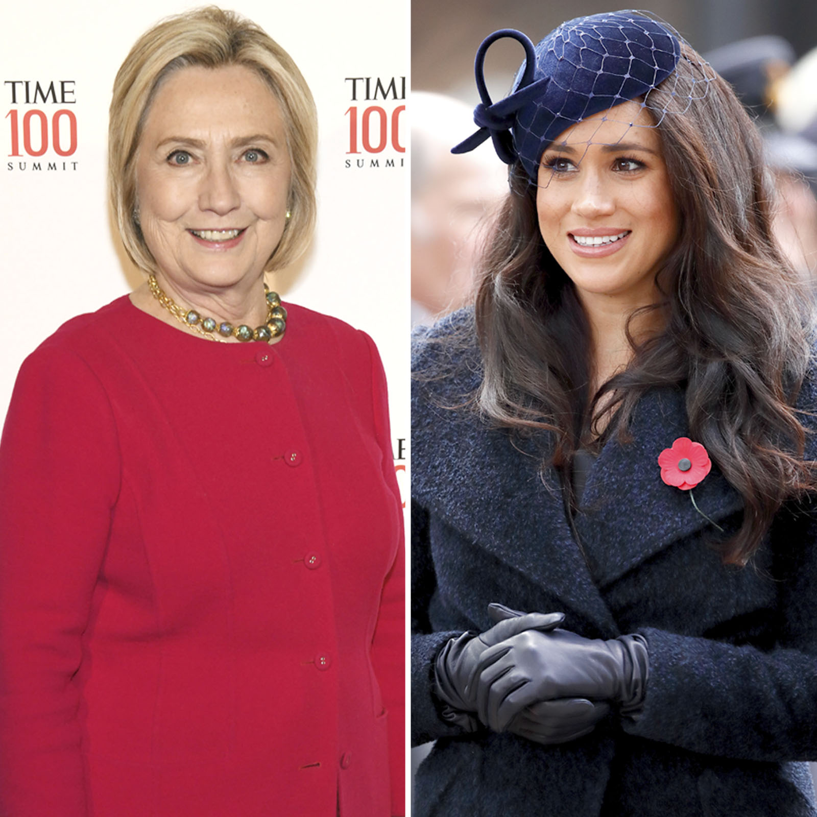 Hillary Clinton y Meghan Markle