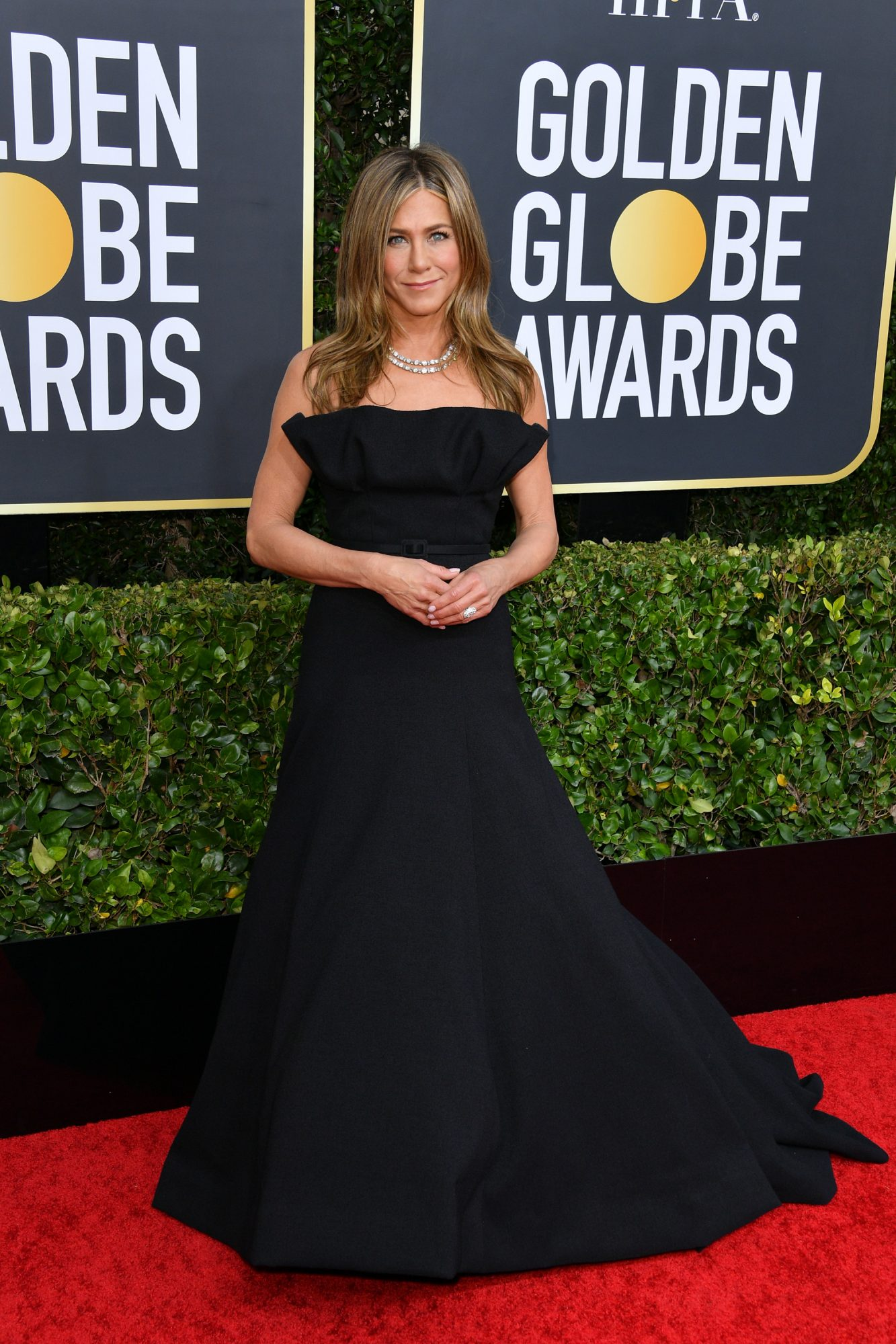 Jennifer Aniston, look, vestido, golden Globes