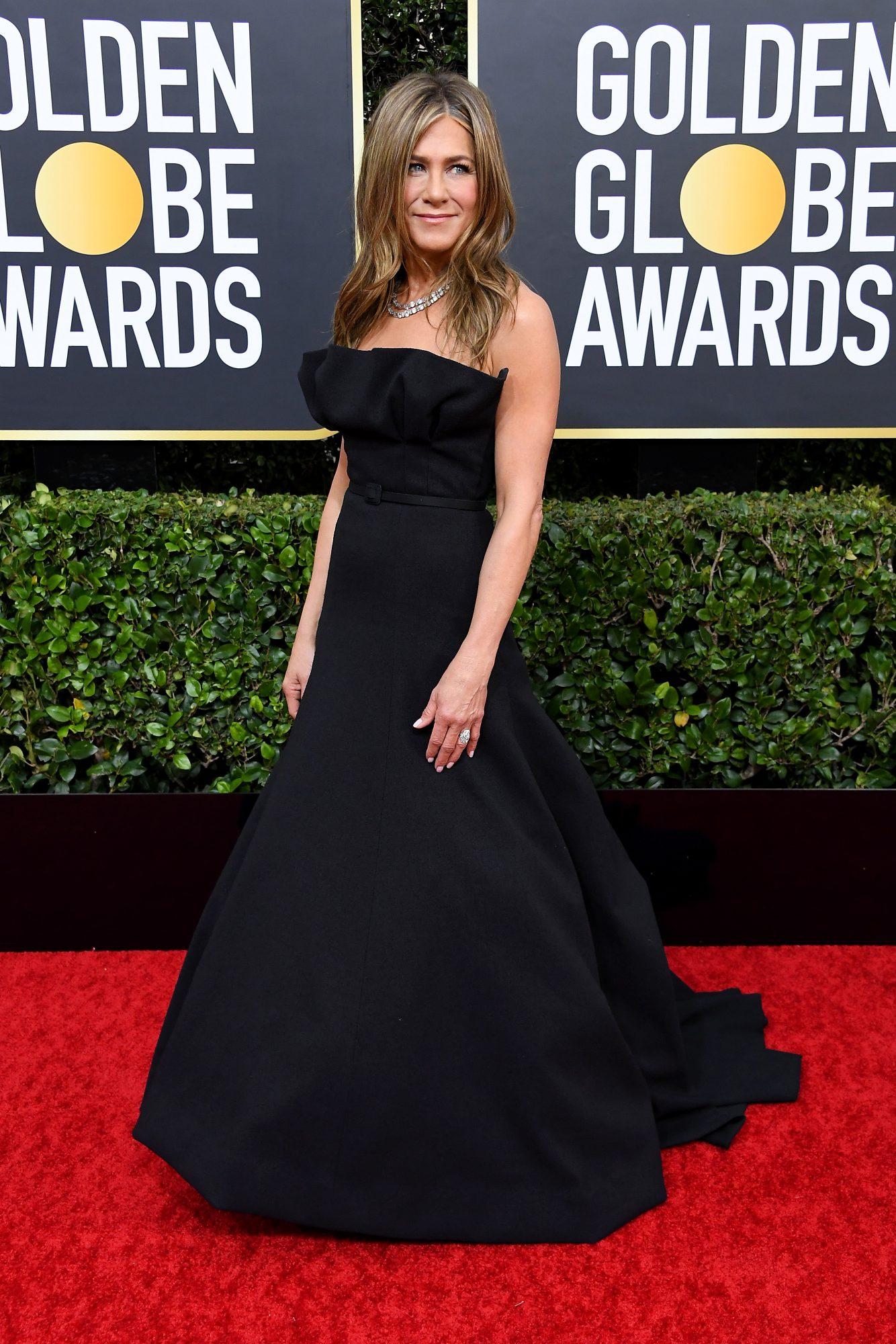 Jennifer Aniston Alfombra Roja Golden Globes 2020