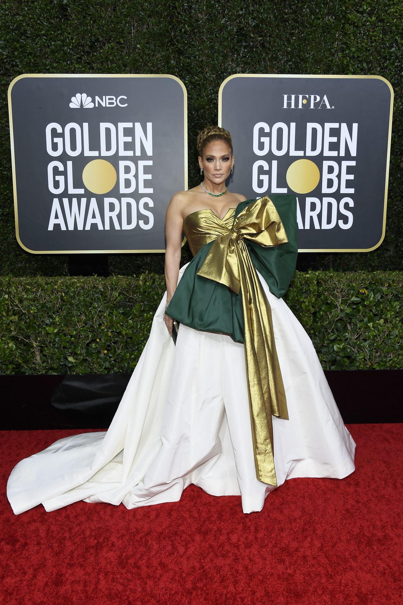 Jennifer Lopez, look, vestido, golden globes