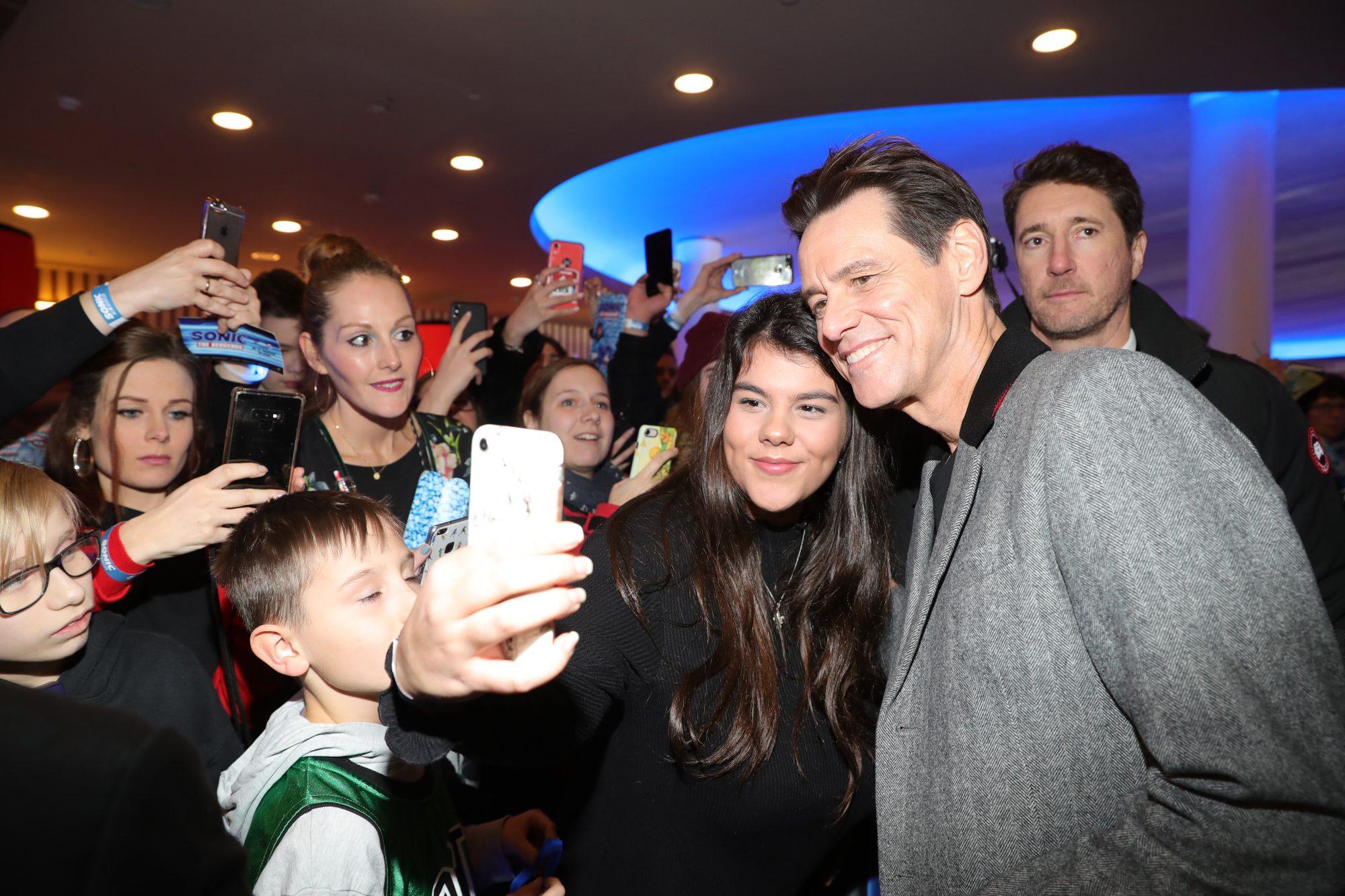 Jim Carrey premiere de la cinta Sonic the Hedgehog en berlin