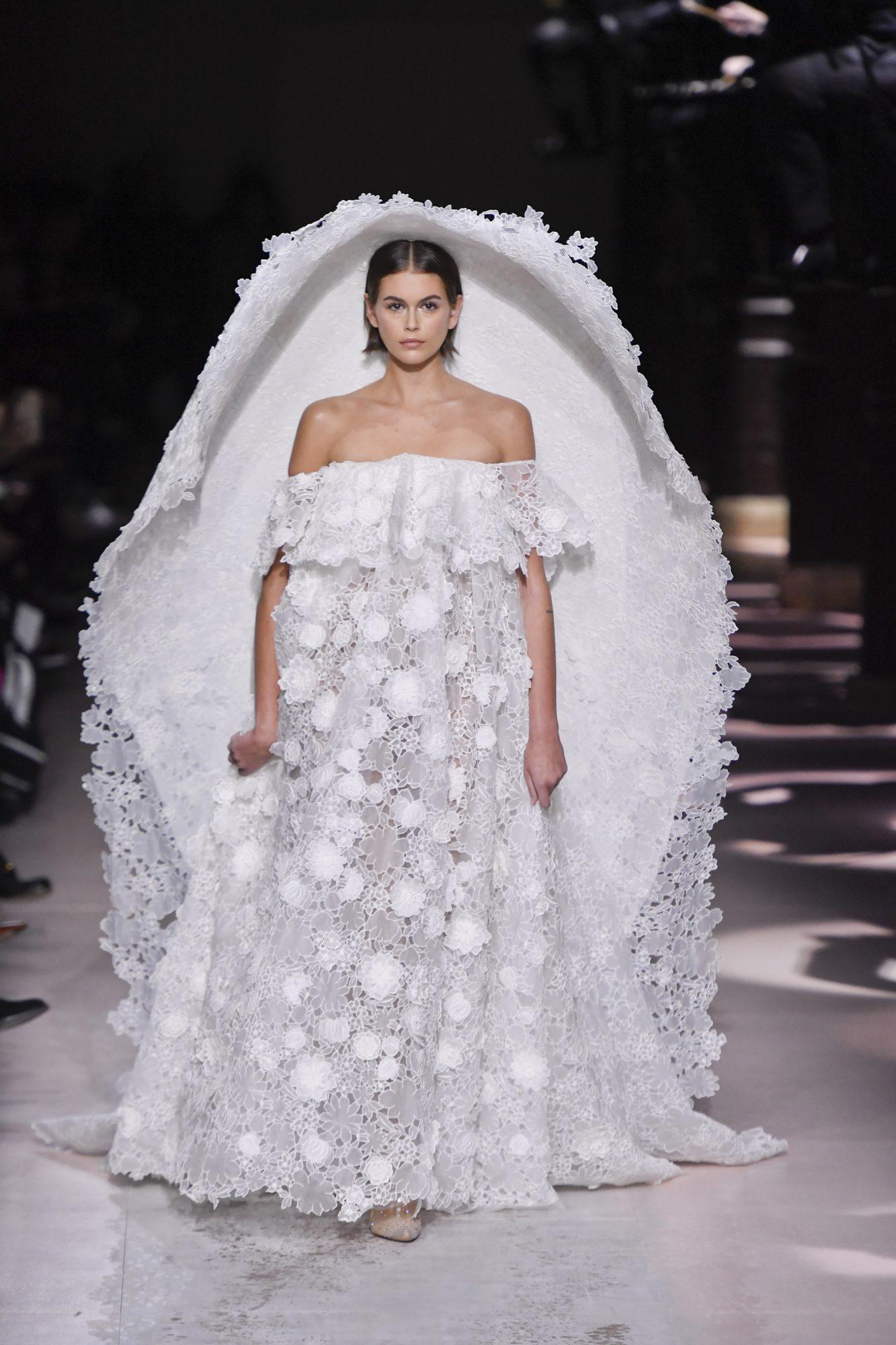 Kaia Gerber, semana de la moda de Paris, couture, givenchy