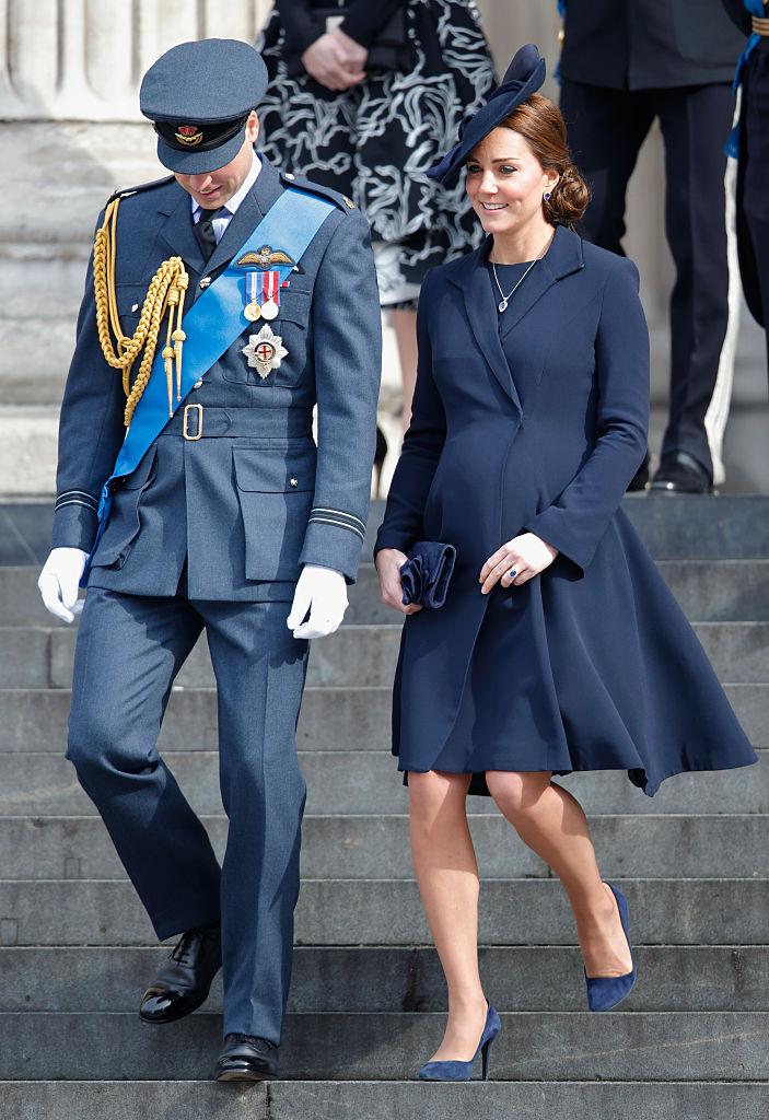 Kate Middleton embarazada William