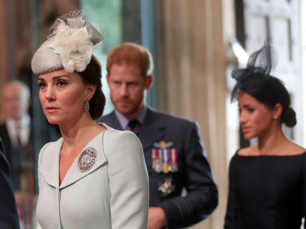 Kate Middleton príncipe Harry Meghan Markle