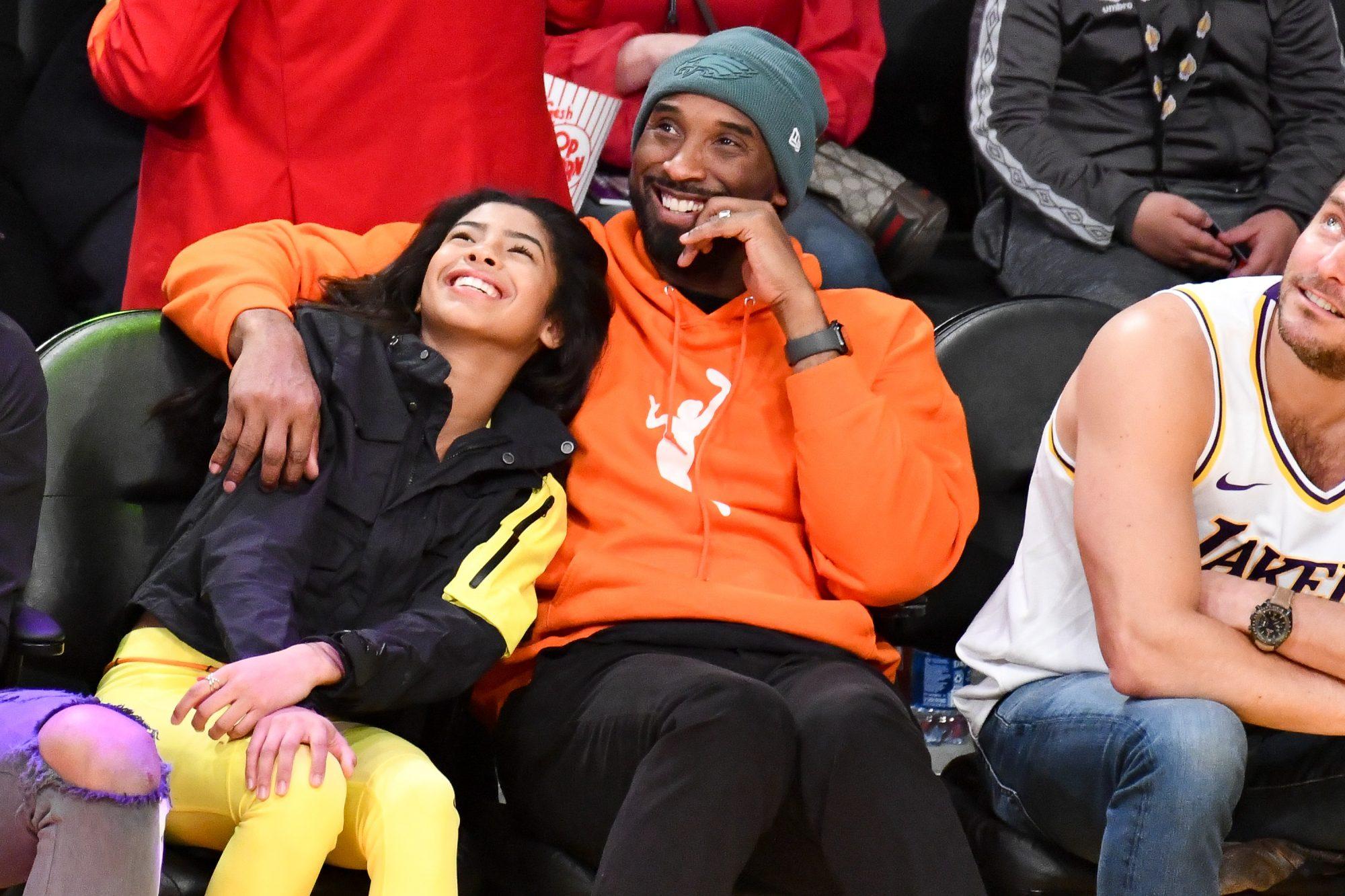 Kobe Bryant y su hija Gianna Bryant