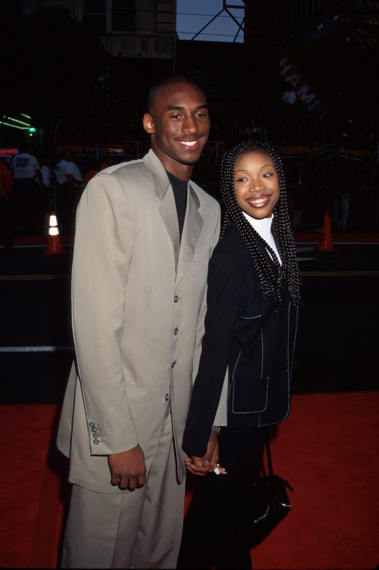 Kobe Bryant y Brandy