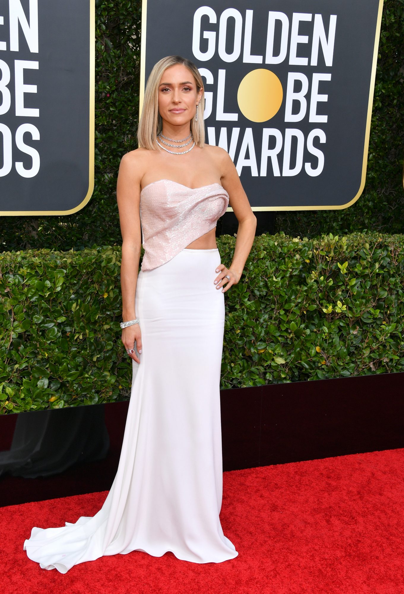 Kristin Cavallari Alfombra Roja Golden Globes 2020