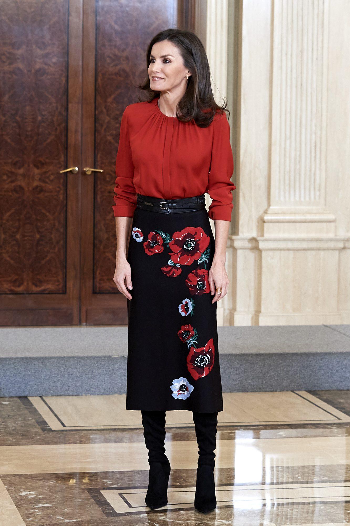 La reina Letizia, looks