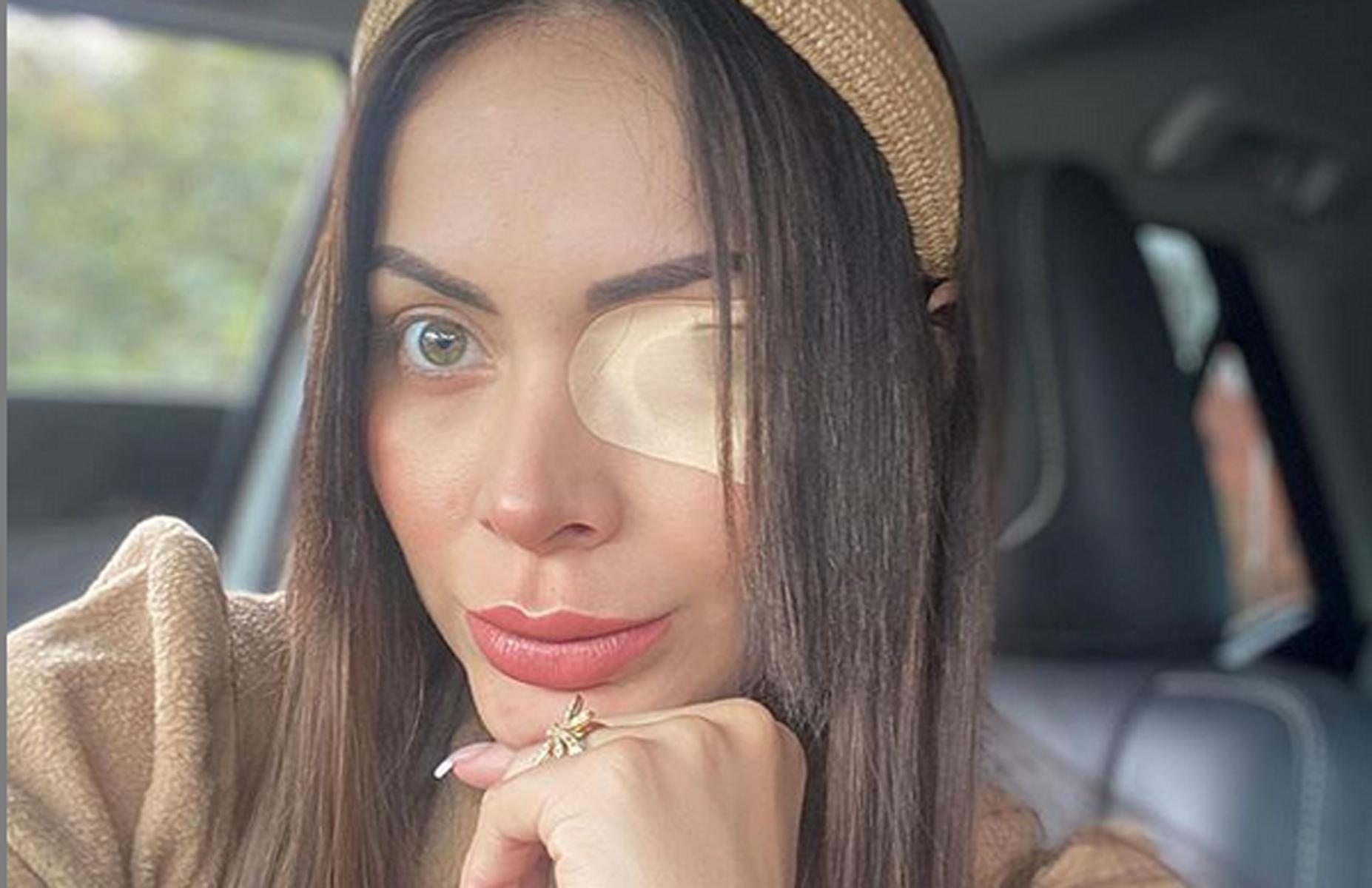 Laura Gónzalez Modelo Colombiana córnea