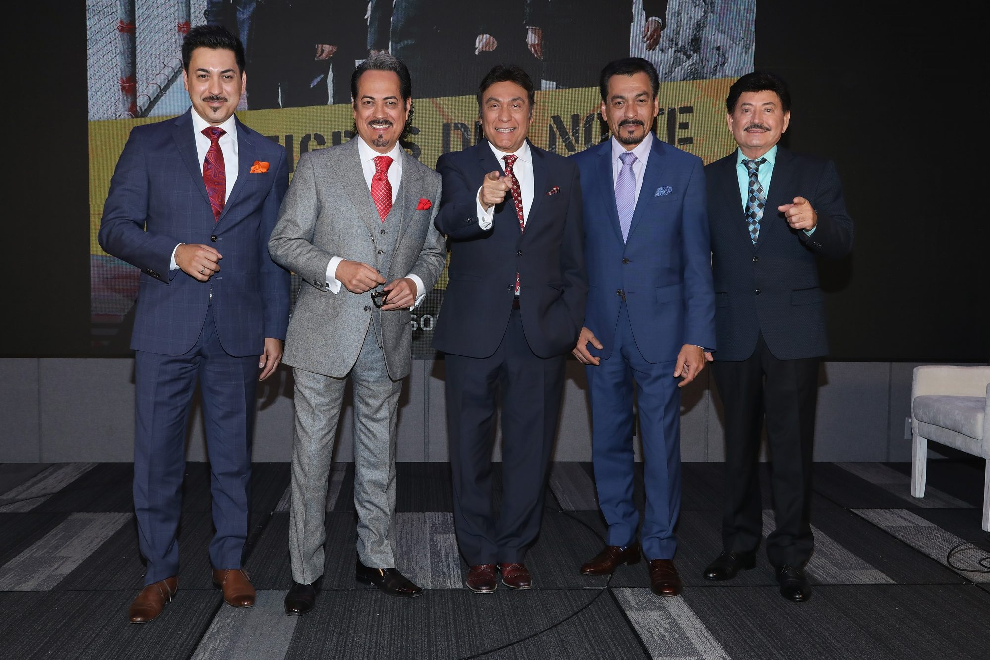 'Los Tigres del Norte' Press Conference