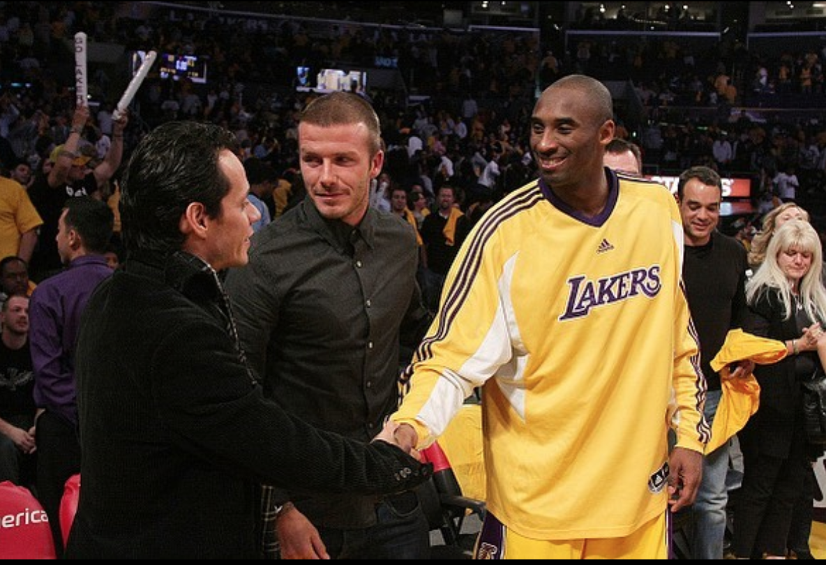 Marc Anthony, Kobe Bryant