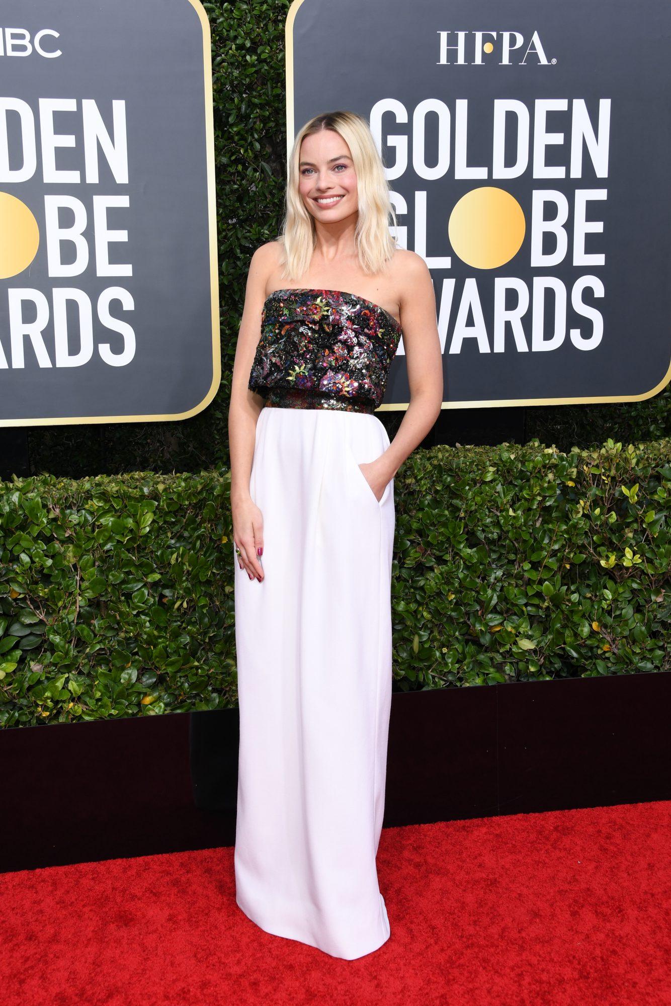 Margot Robbie Alfombra Roja Golden Globes 2020