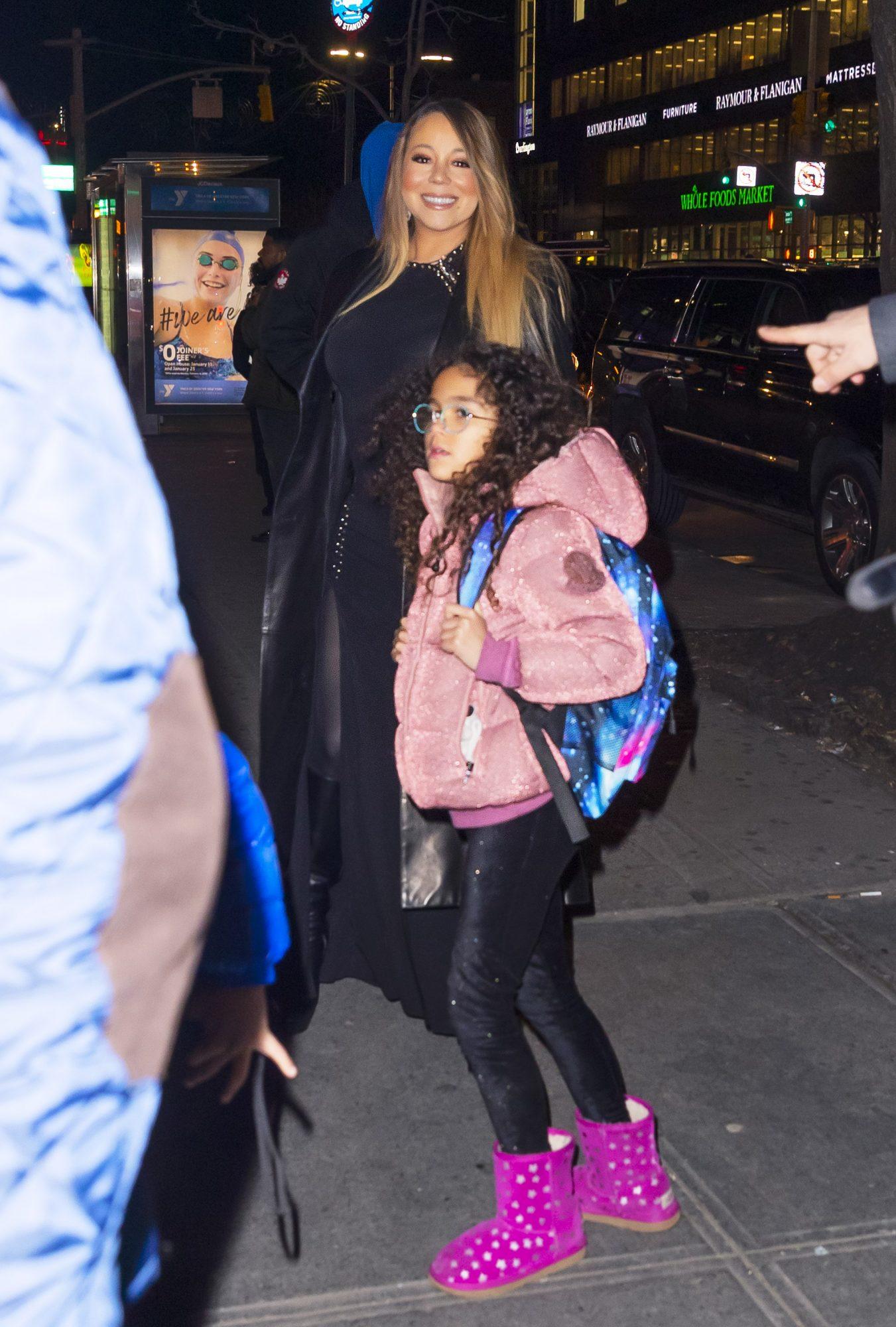 Mariah Carey y su hija Moroccan Monroe