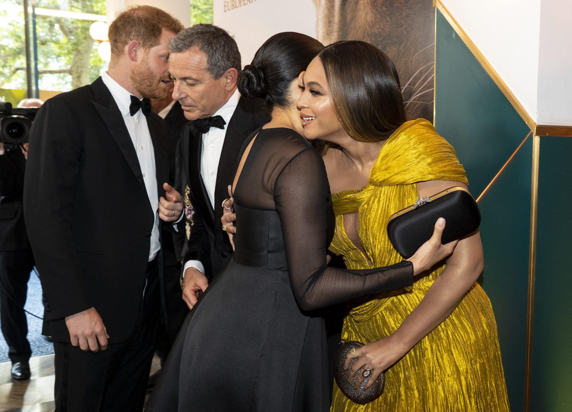 Príncipe Harry, Bob Iger, Meghan Markle, Beyoncé, Jay-Z