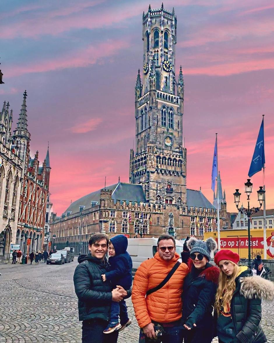 Maribel Guardia de vacaciones por Europa