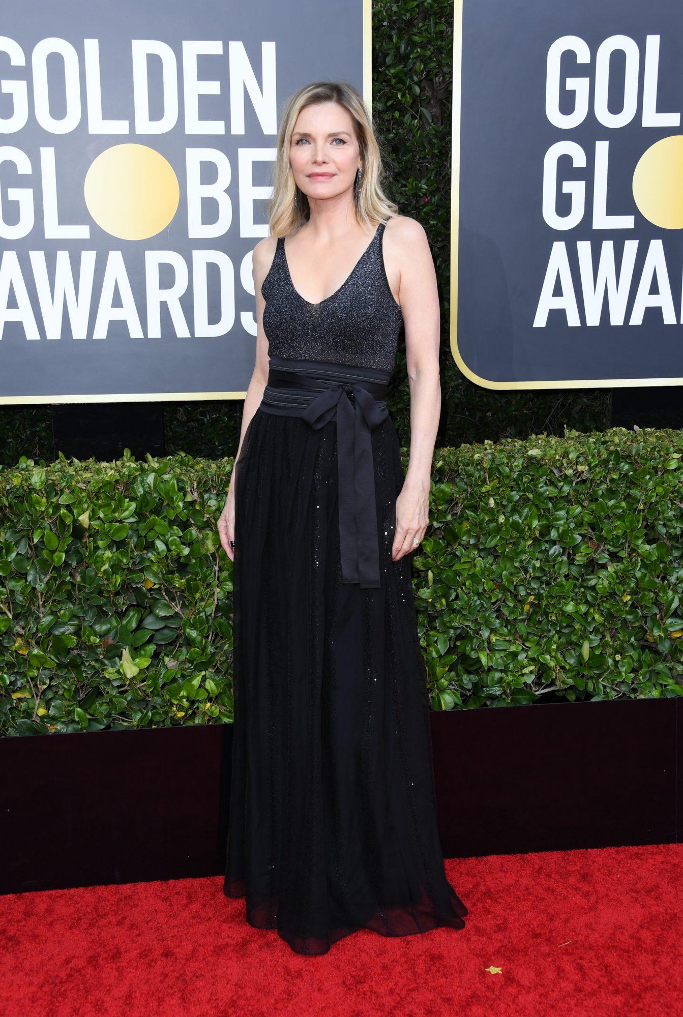 Michelle Pfeiffer Alfombra Roja Golden Globes 2020
