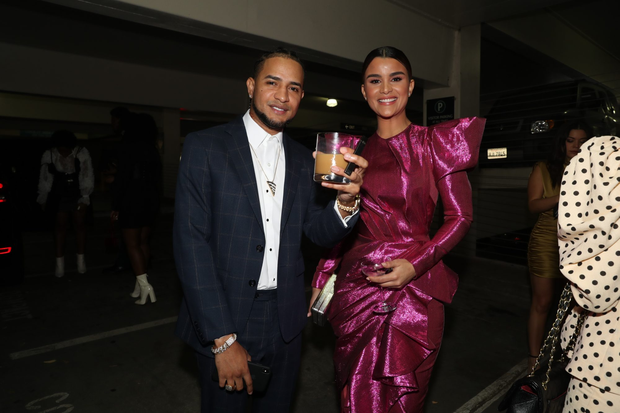 Clarissa Molina y Mozart La Para brunch roc nation grammy