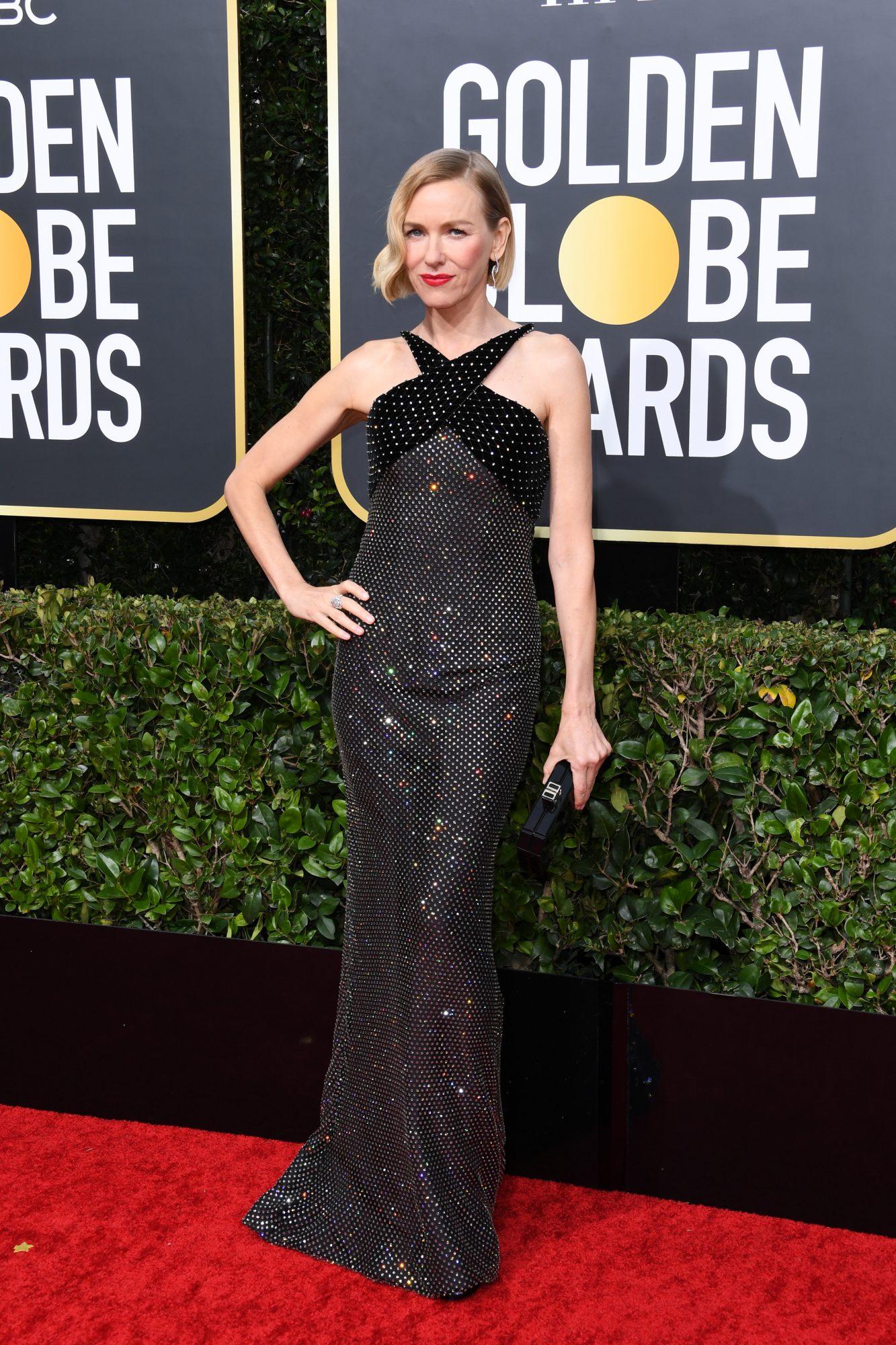 Naomi Watts Alfombra Roja Golden Globes 2020